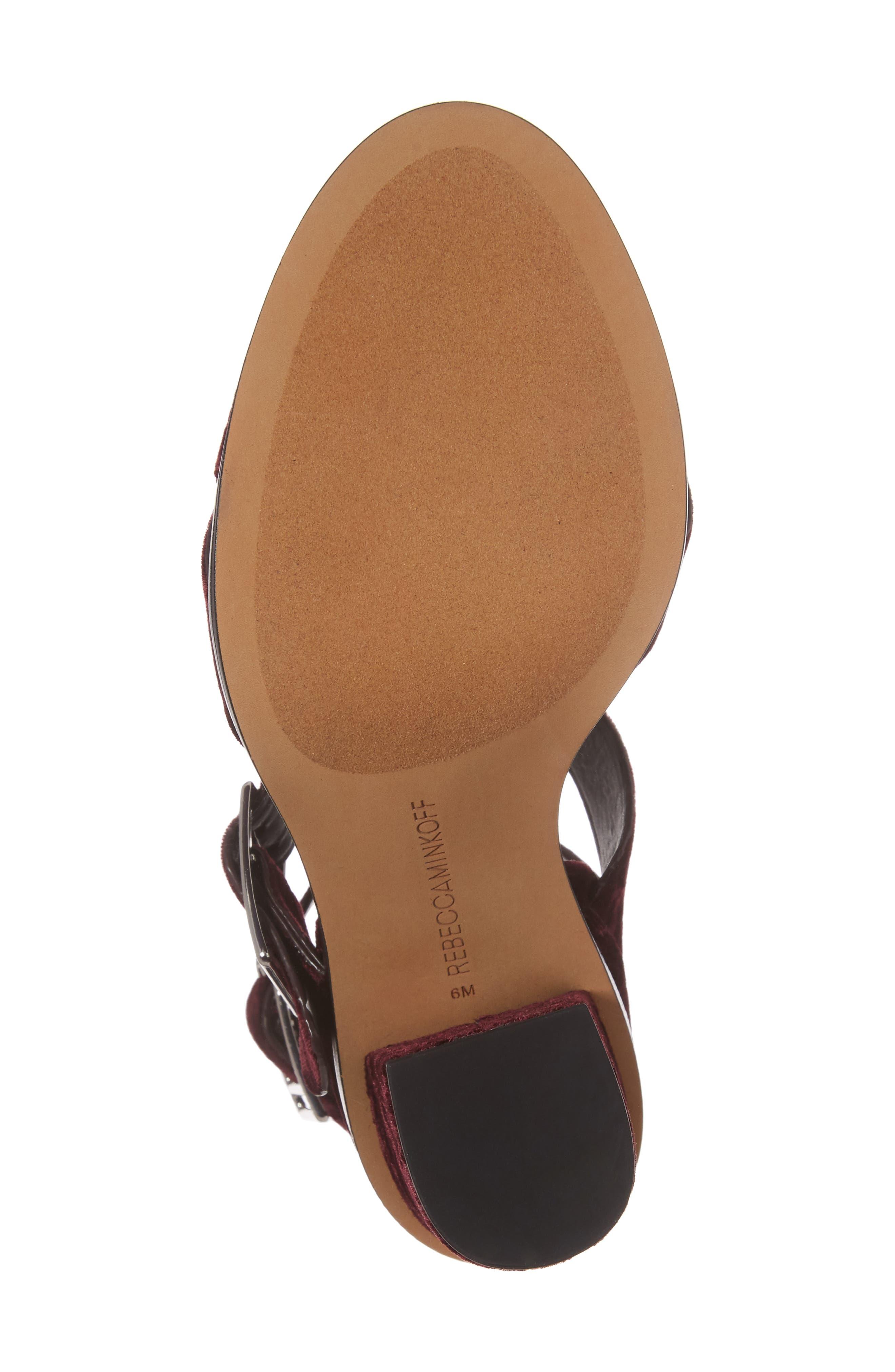Jennifer Studded Ankle Cuff Sandal,                             Alternate thumbnail 18, color,