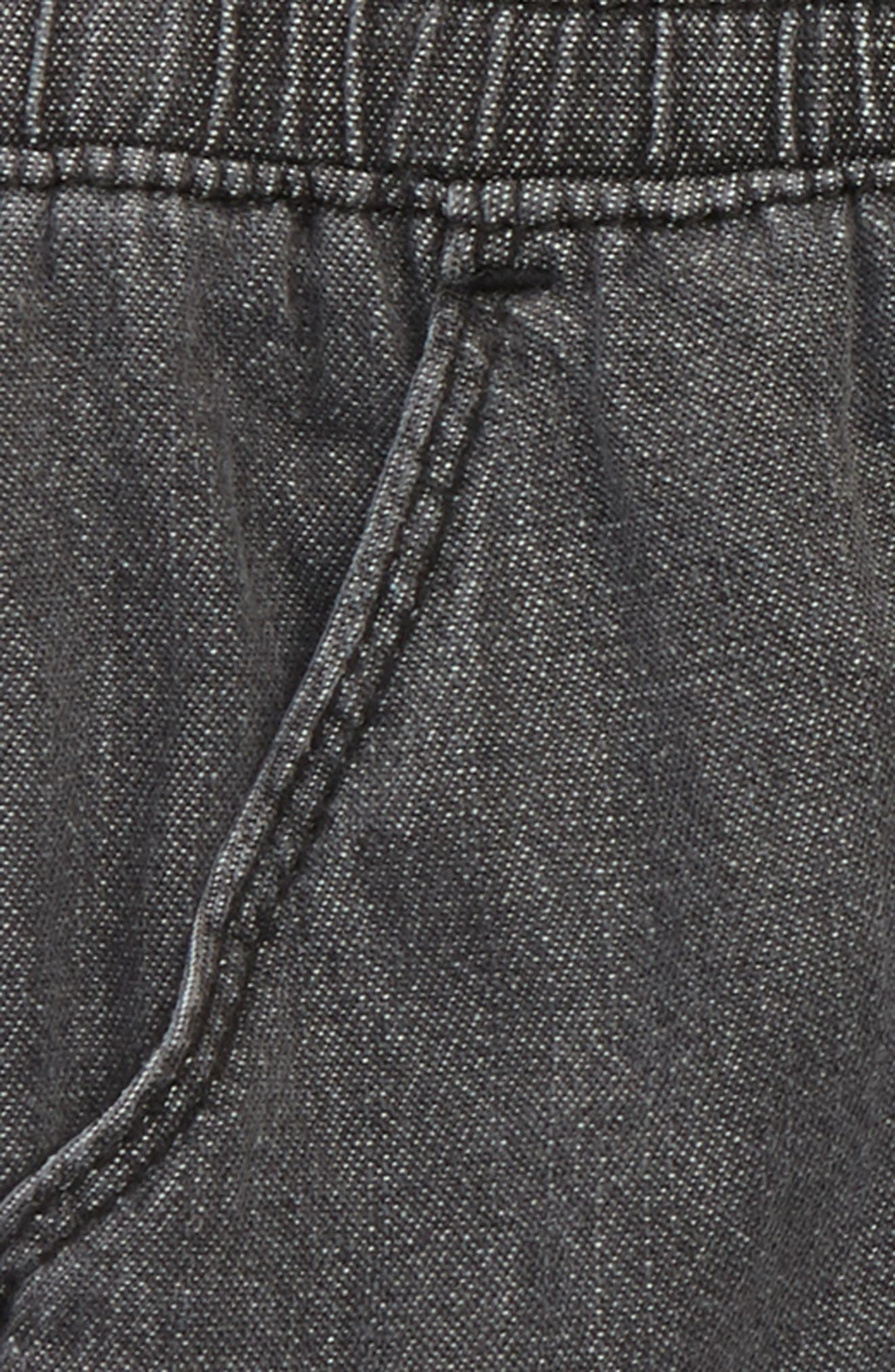 Nicky Chambray Shorts,                             Alternate thumbnail 2, color,                             455