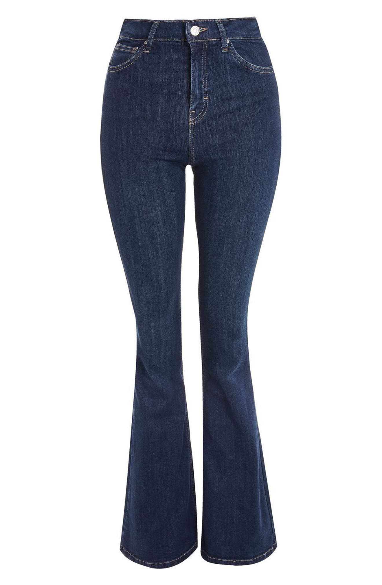 Jamie Flare Jeans,                             Alternate thumbnail 13, color,
