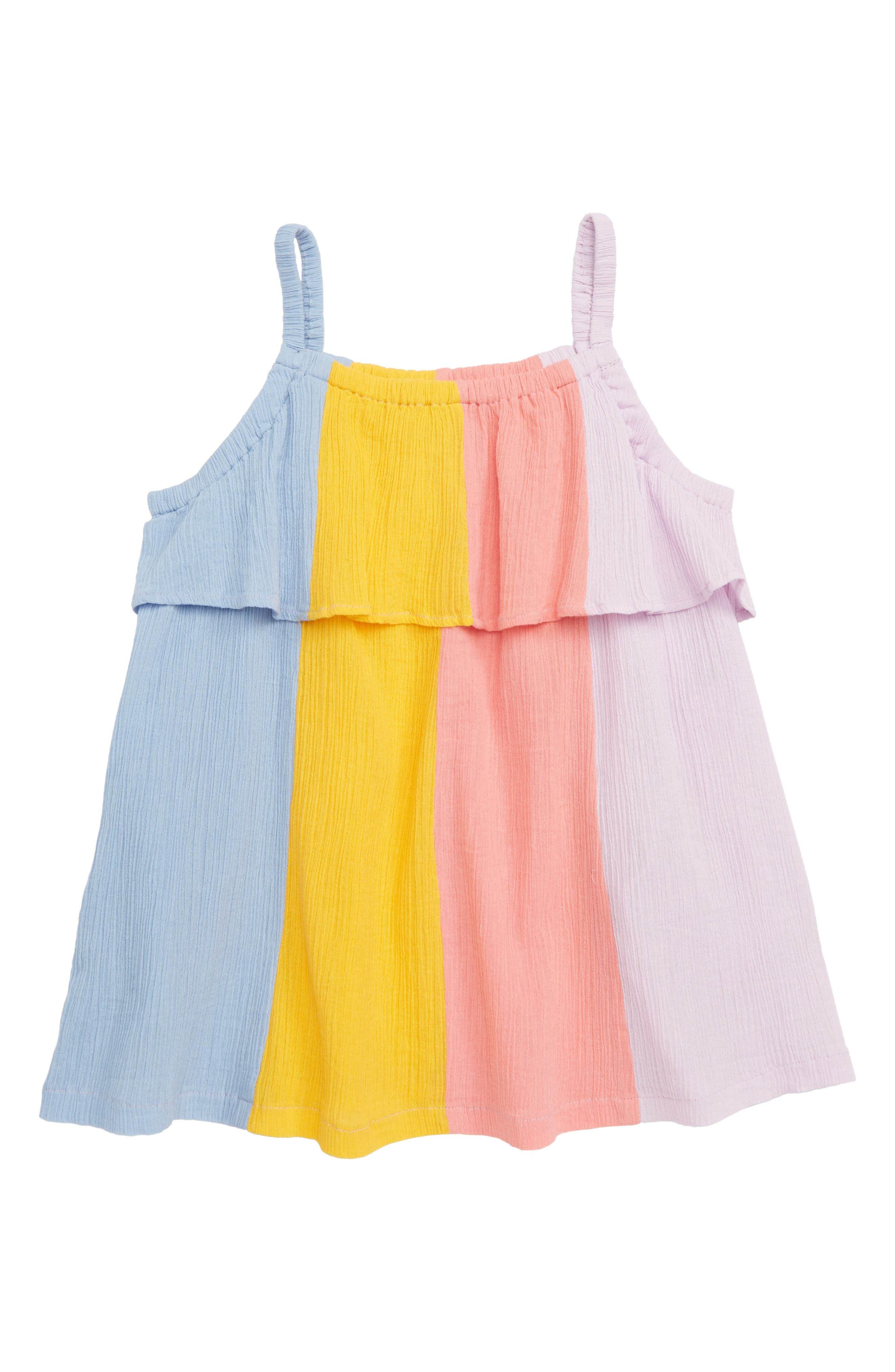 Milena Crepe Dress, Main, color, PINK