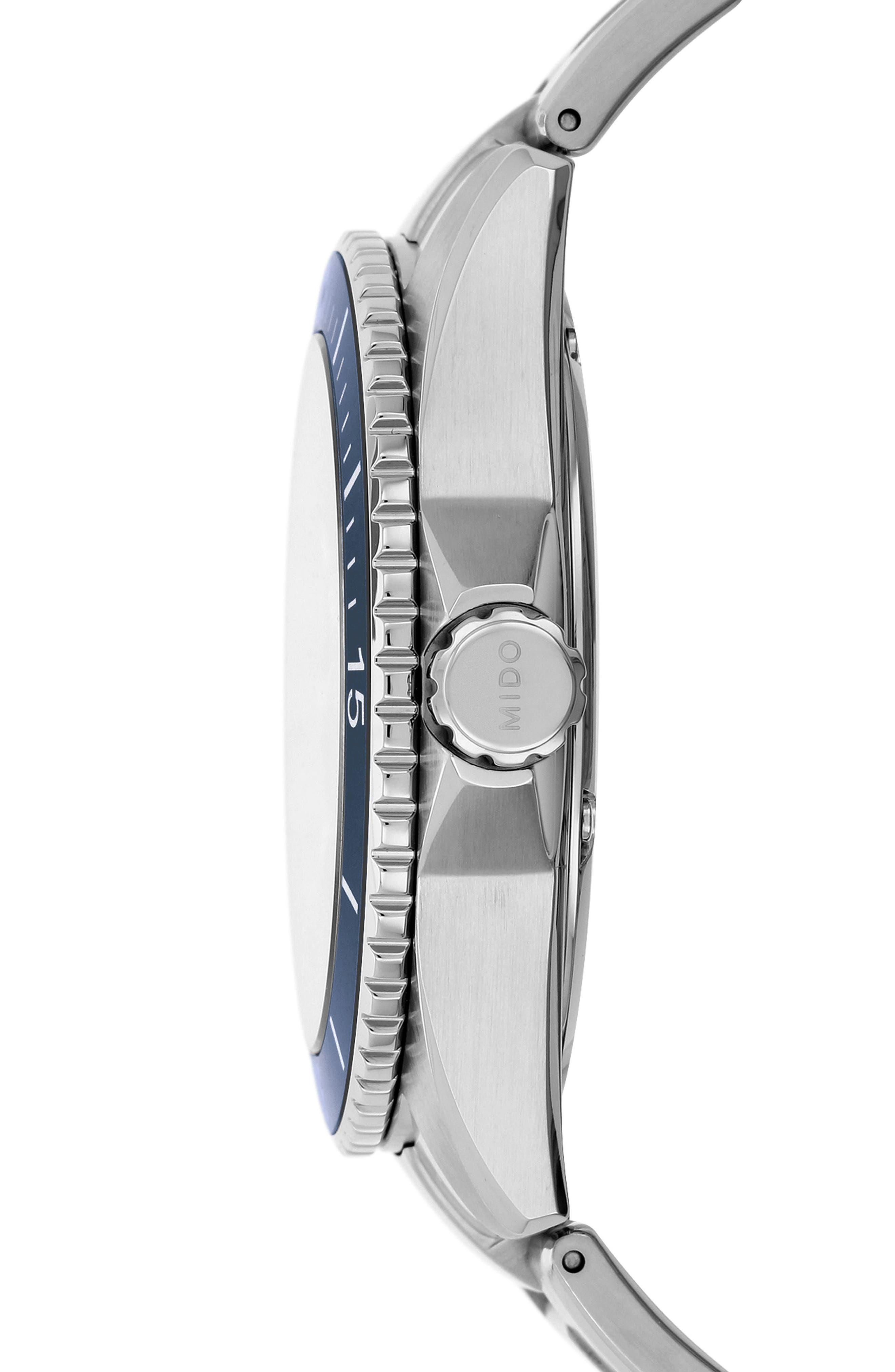 Ocean Star Diver Bracelet Watch, 42mm,                             Alternate thumbnail 5, color,