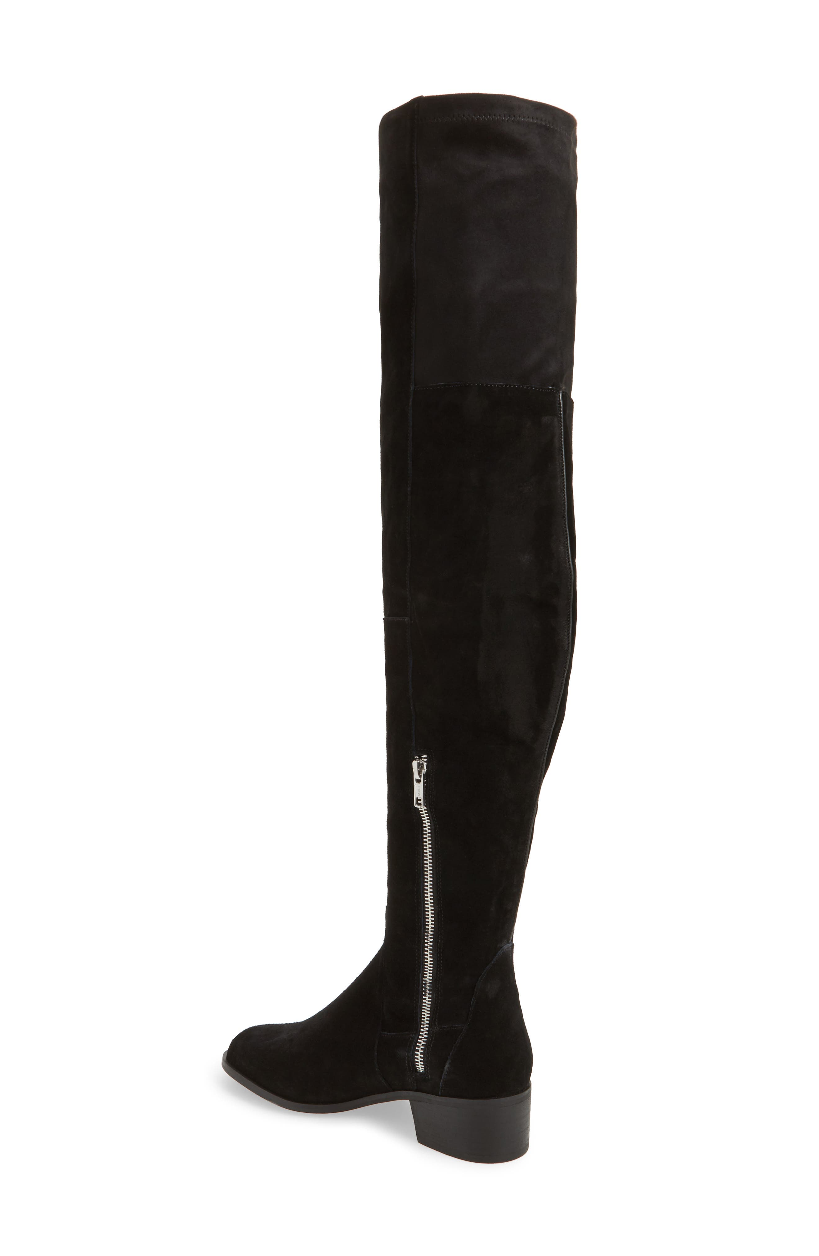 Everly Thigh High Boot,                             Alternate thumbnail 2, color,                             001