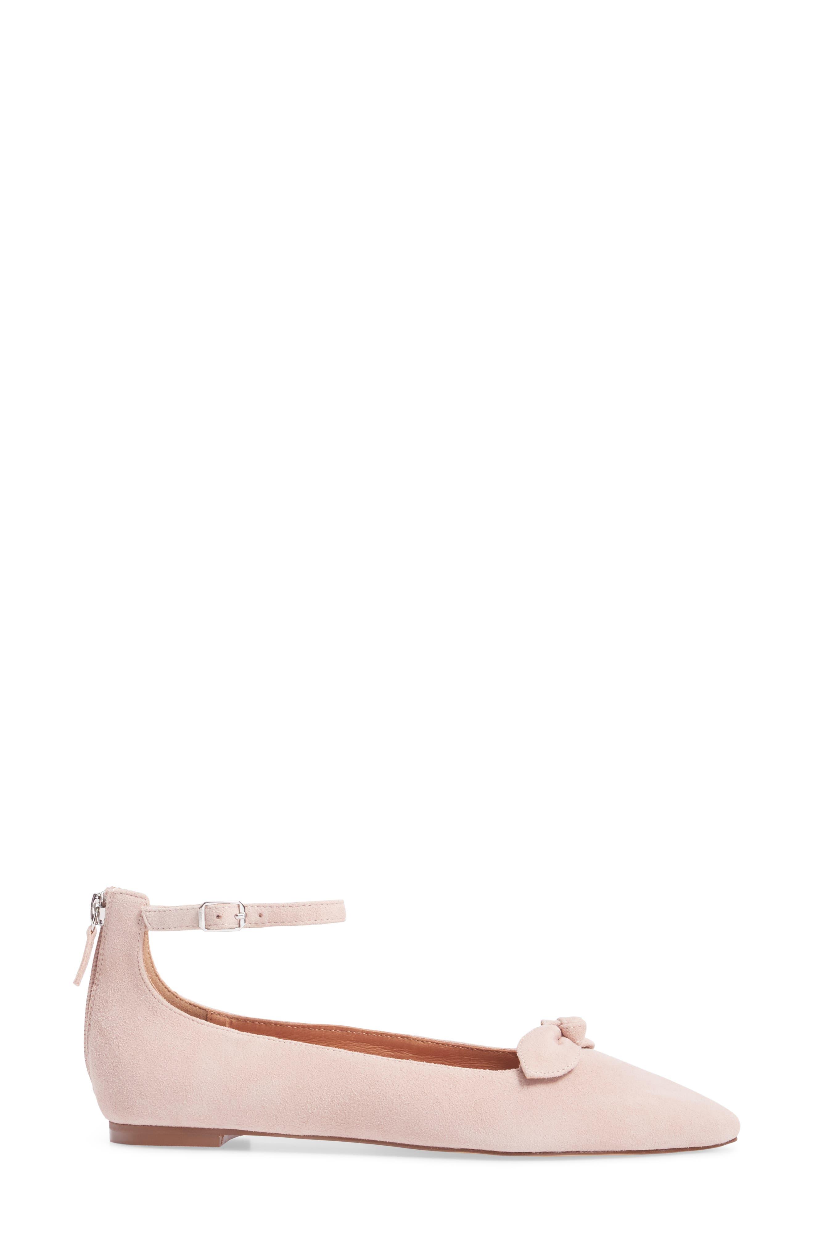 Paisley Ankle Strap Flat,                             Alternate thumbnail 9, color,