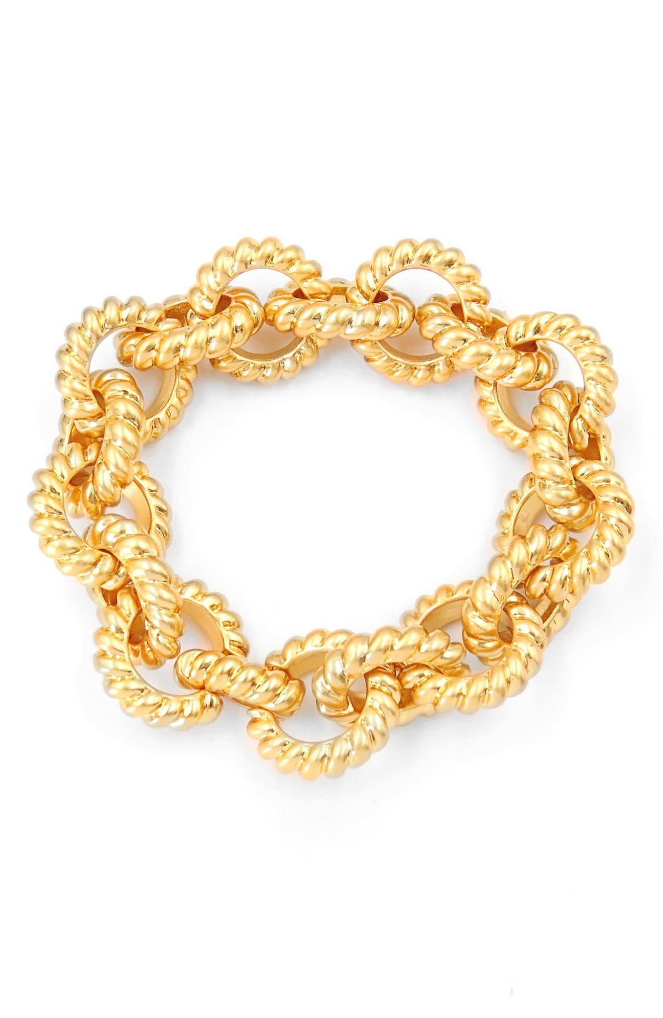 Circle Link Bracelet,                         Main,                         color, 710