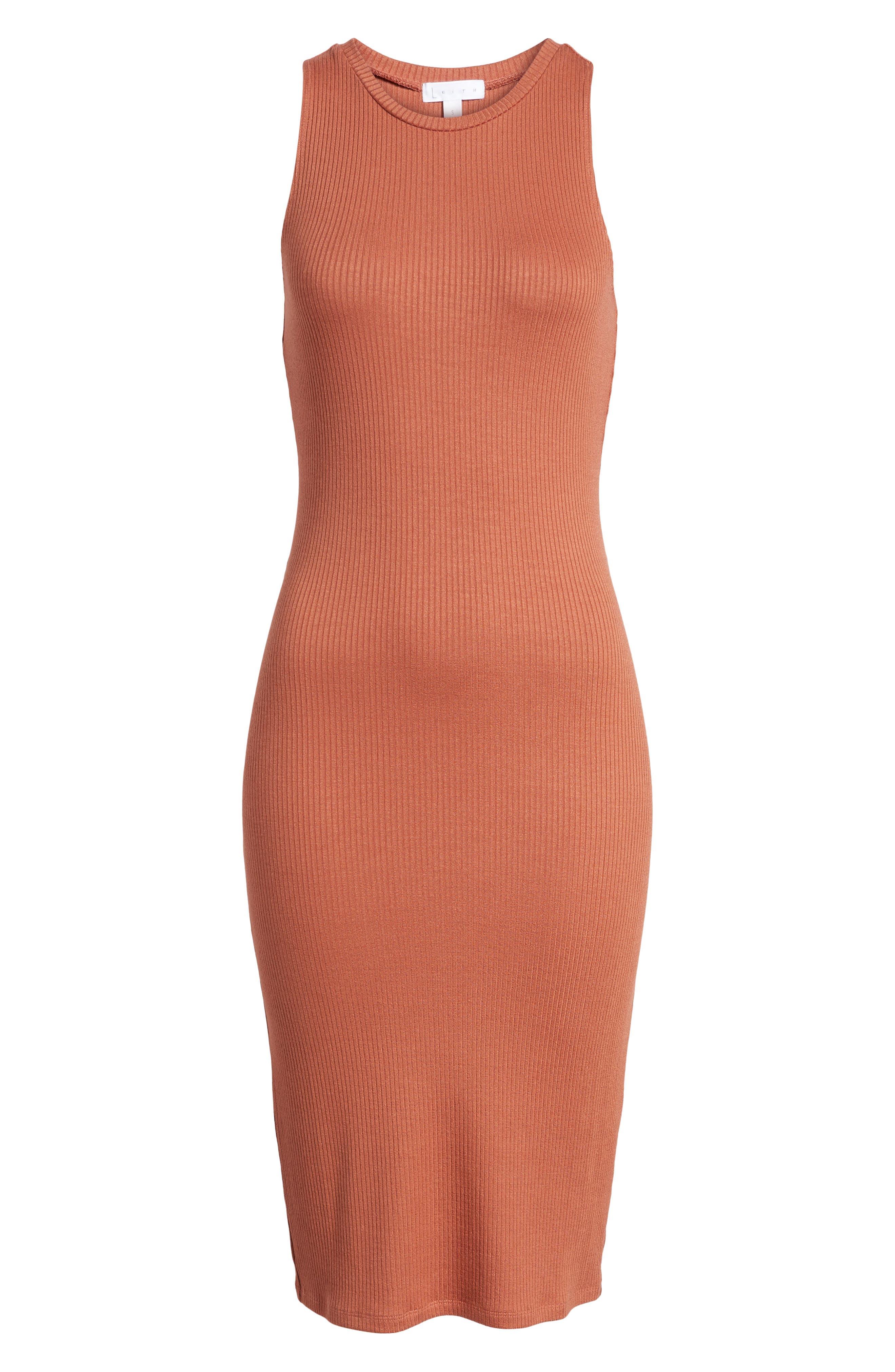 Rib Tank Dress,                             Alternate thumbnail 6, color,                             958
