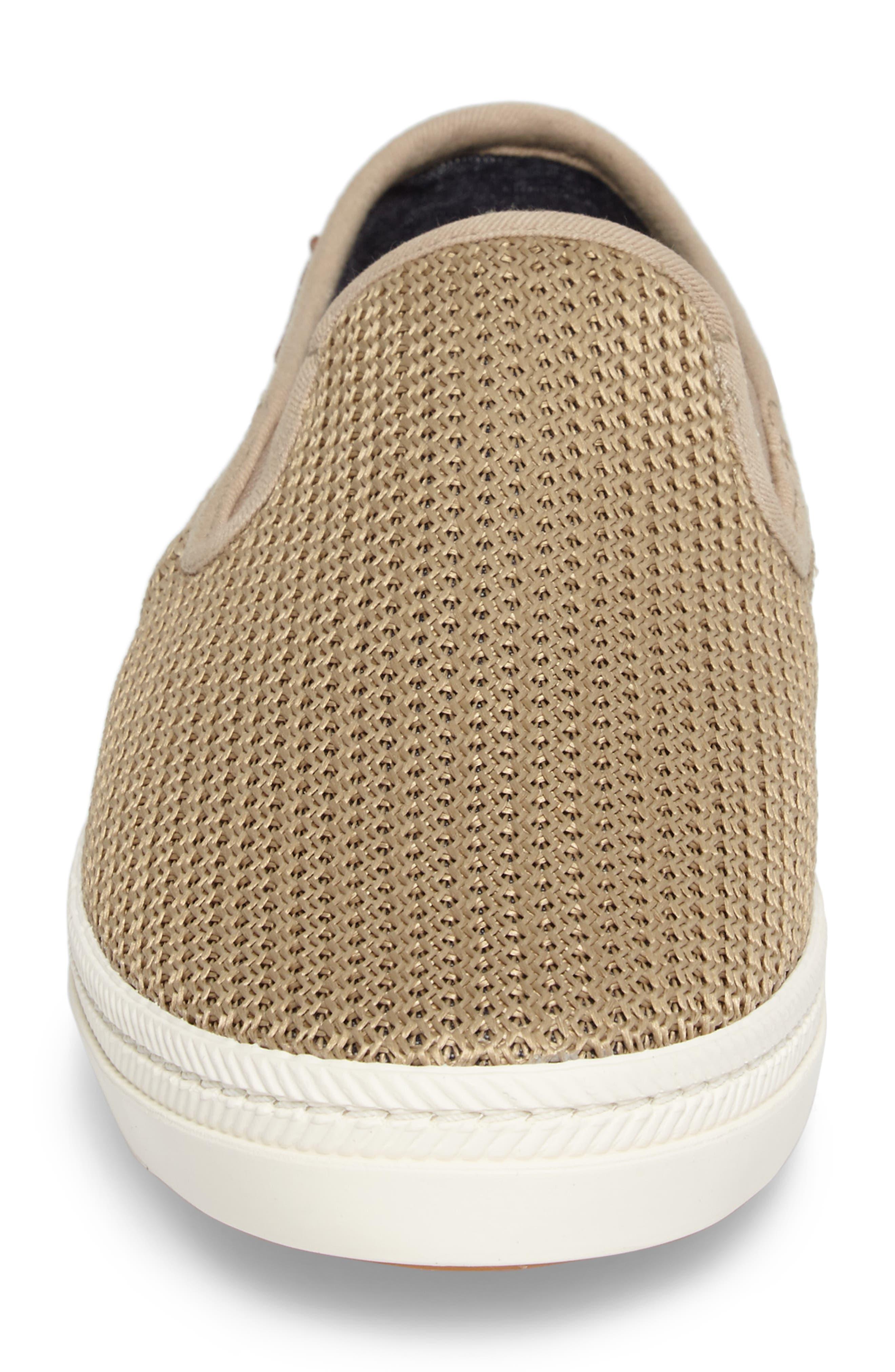 Delray Woven Slip-On Sneaker,                             Alternate thumbnail 4, color,                             252