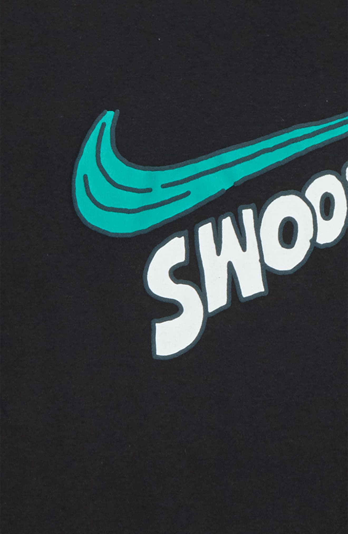 Sportswear Swoosh Graphic T-Shirt,                             Alternate thumbnail 4, color,