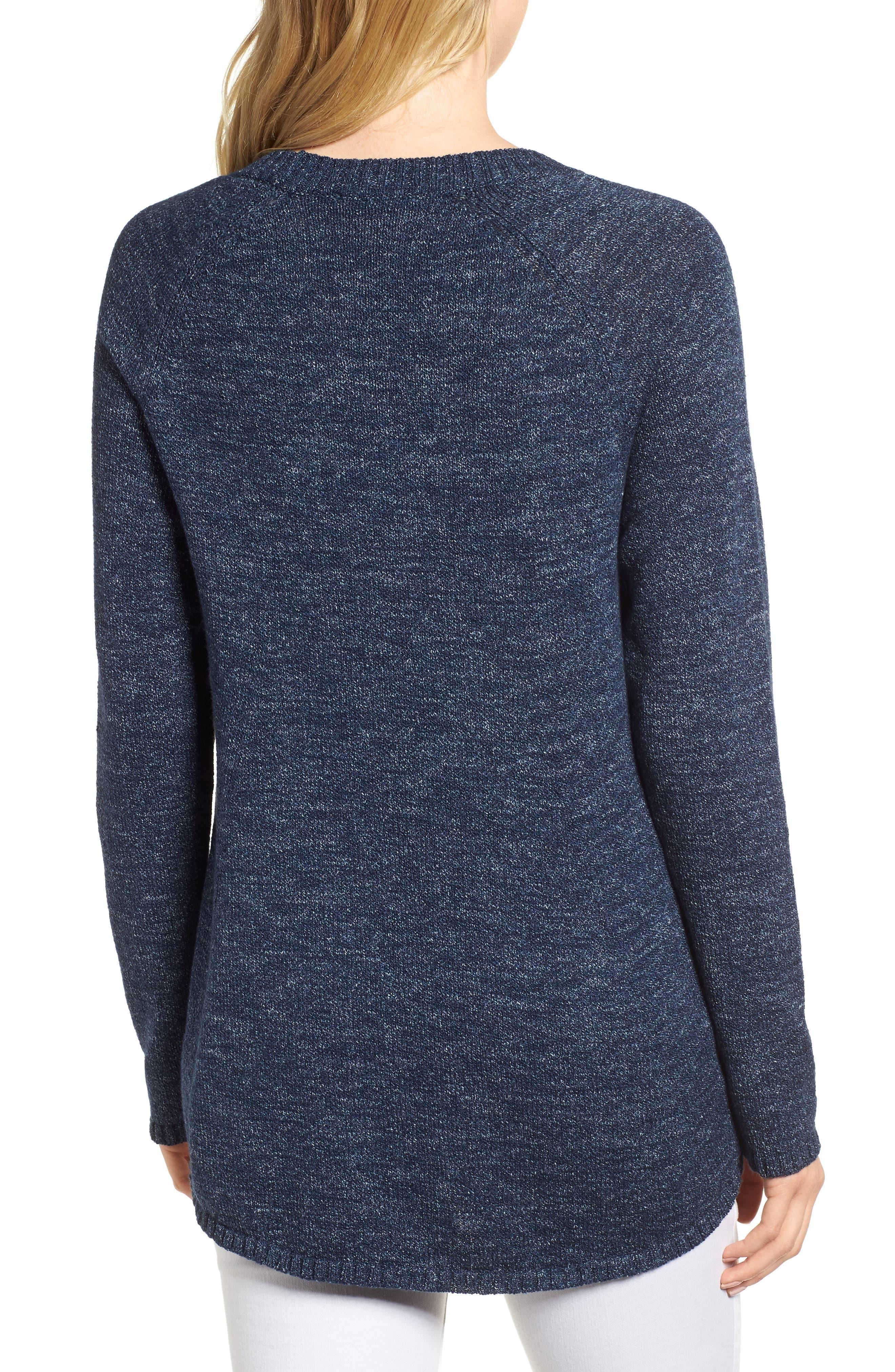 Organic Cotton Sweater,                             Alternate thumbnail 2, color,                             480