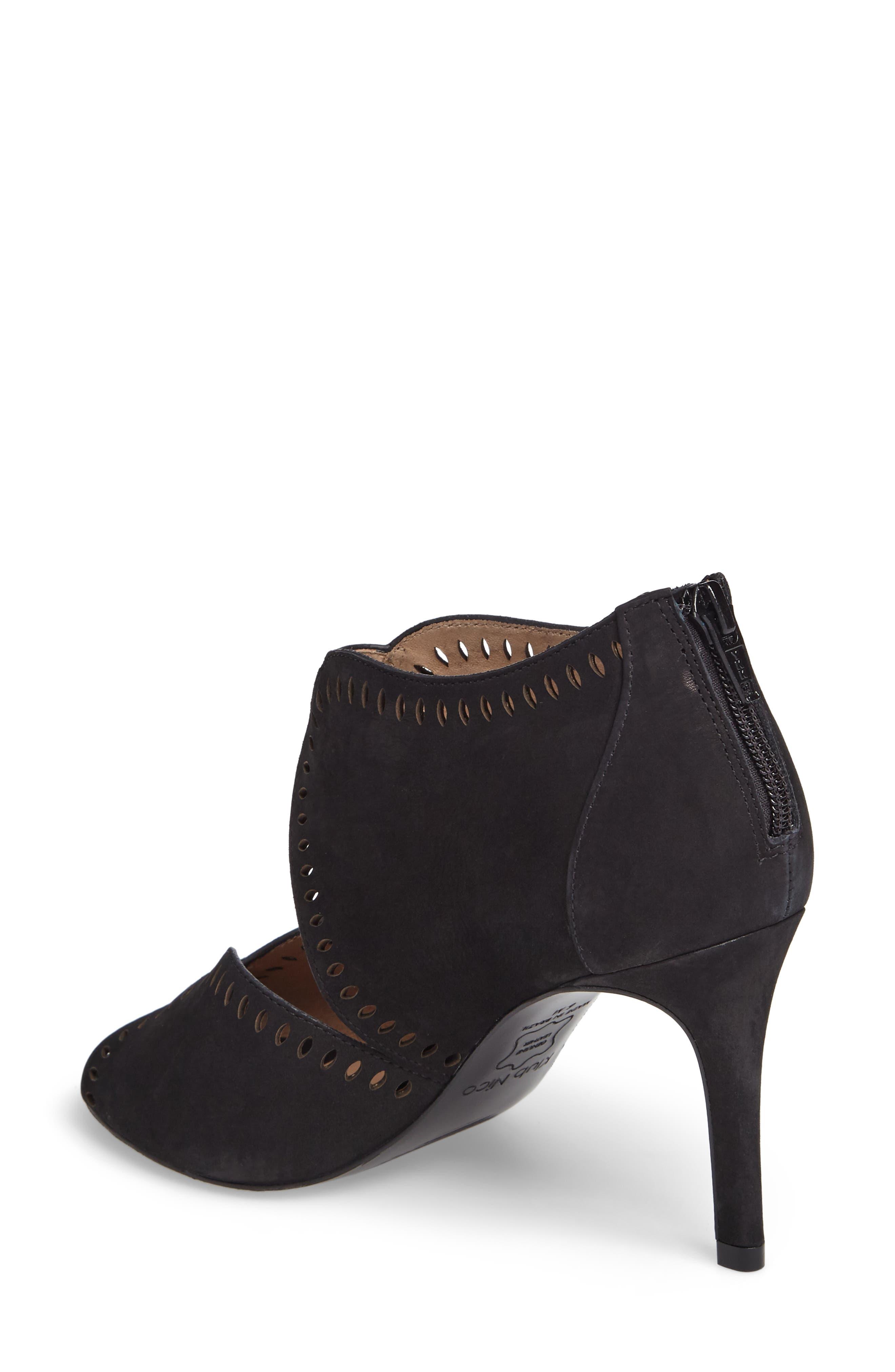 Mallia Perforated Sandal,                             Alternate thumbnail 2, color,                             001