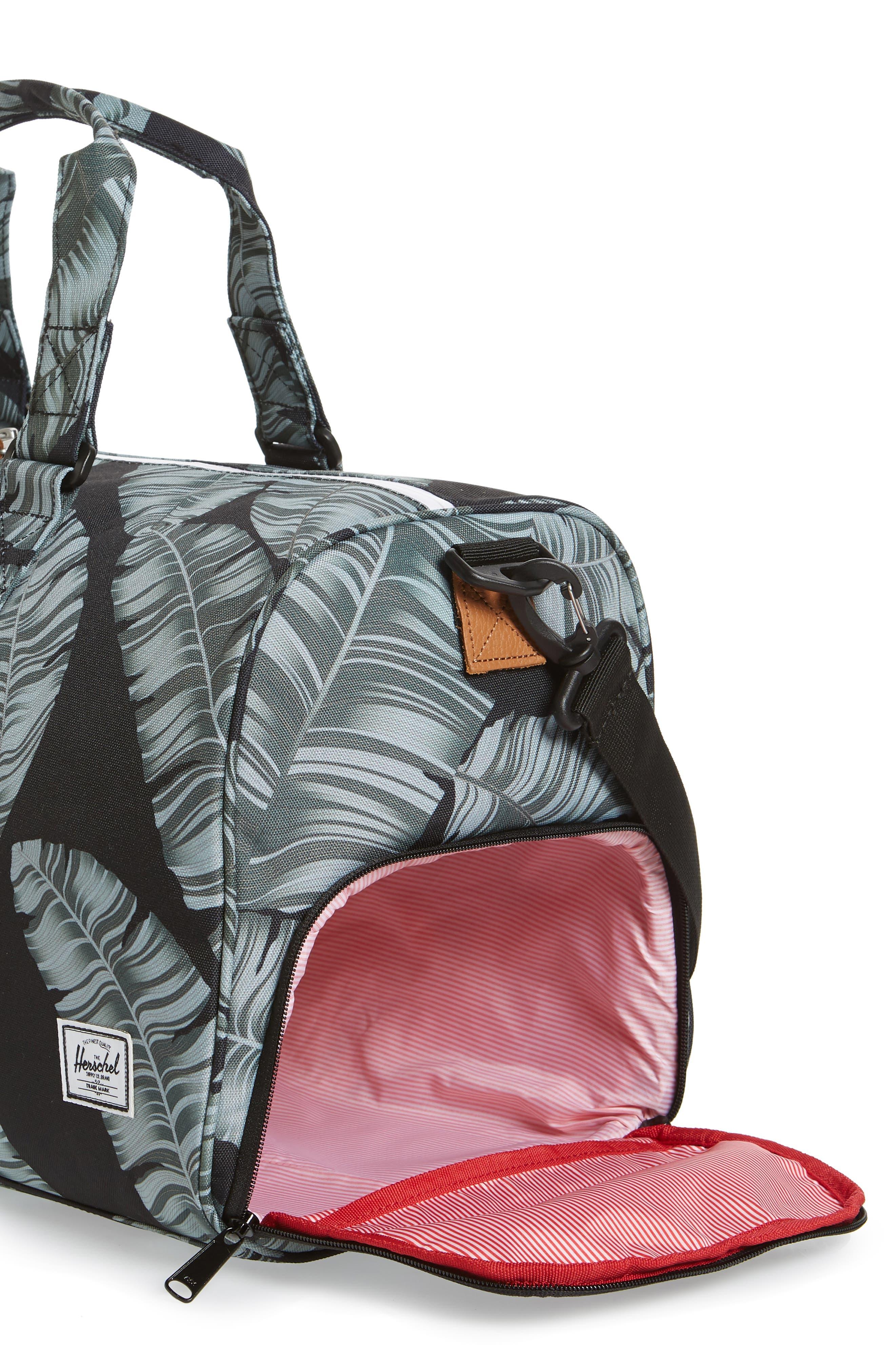 Novel Canvas Duffel Bag,                             Alternate thumbnail 3, color,                             003