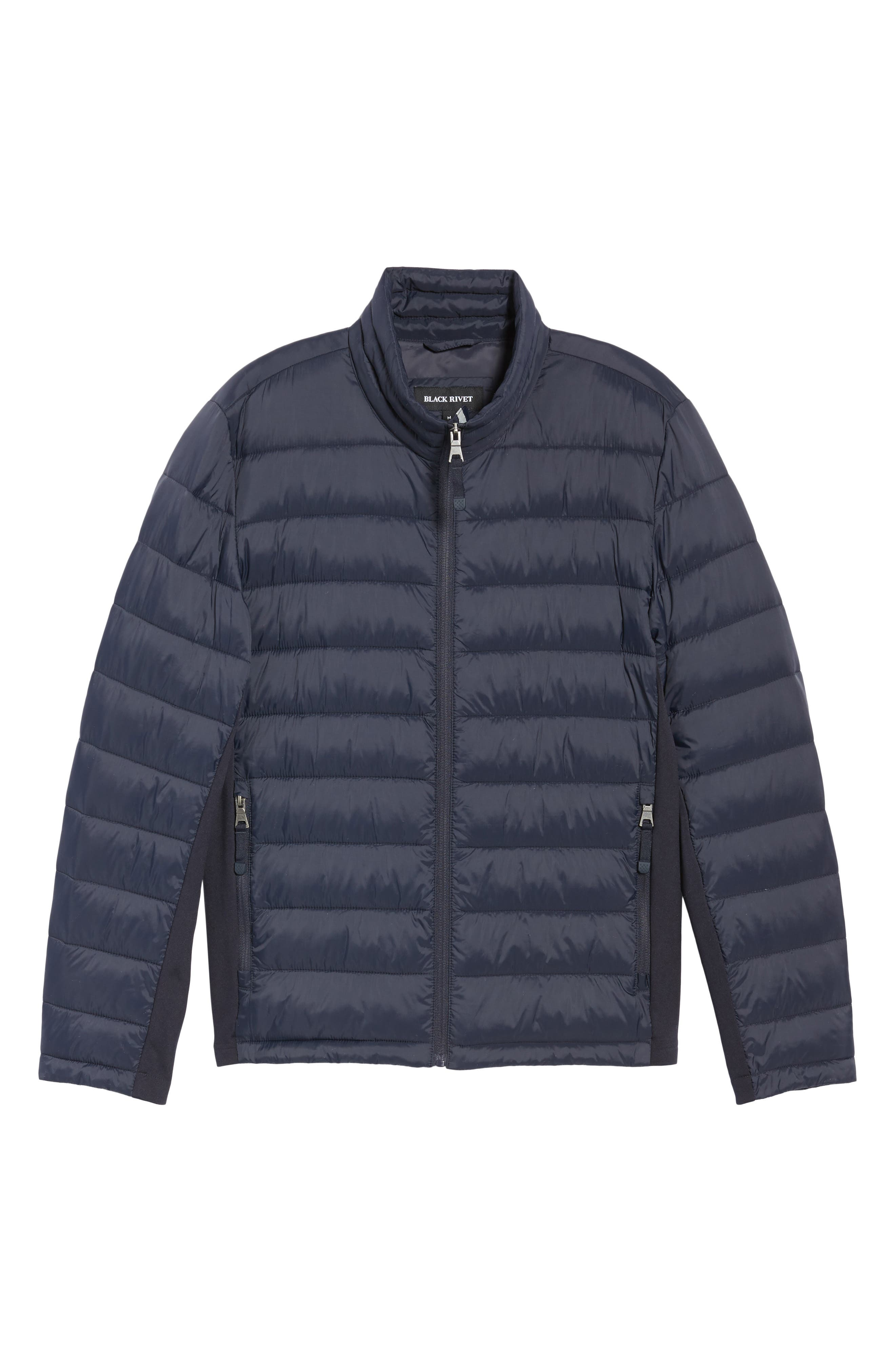 Water Resistant Packable Puffer Jacket,                             Alternate thumbnail 19, color,