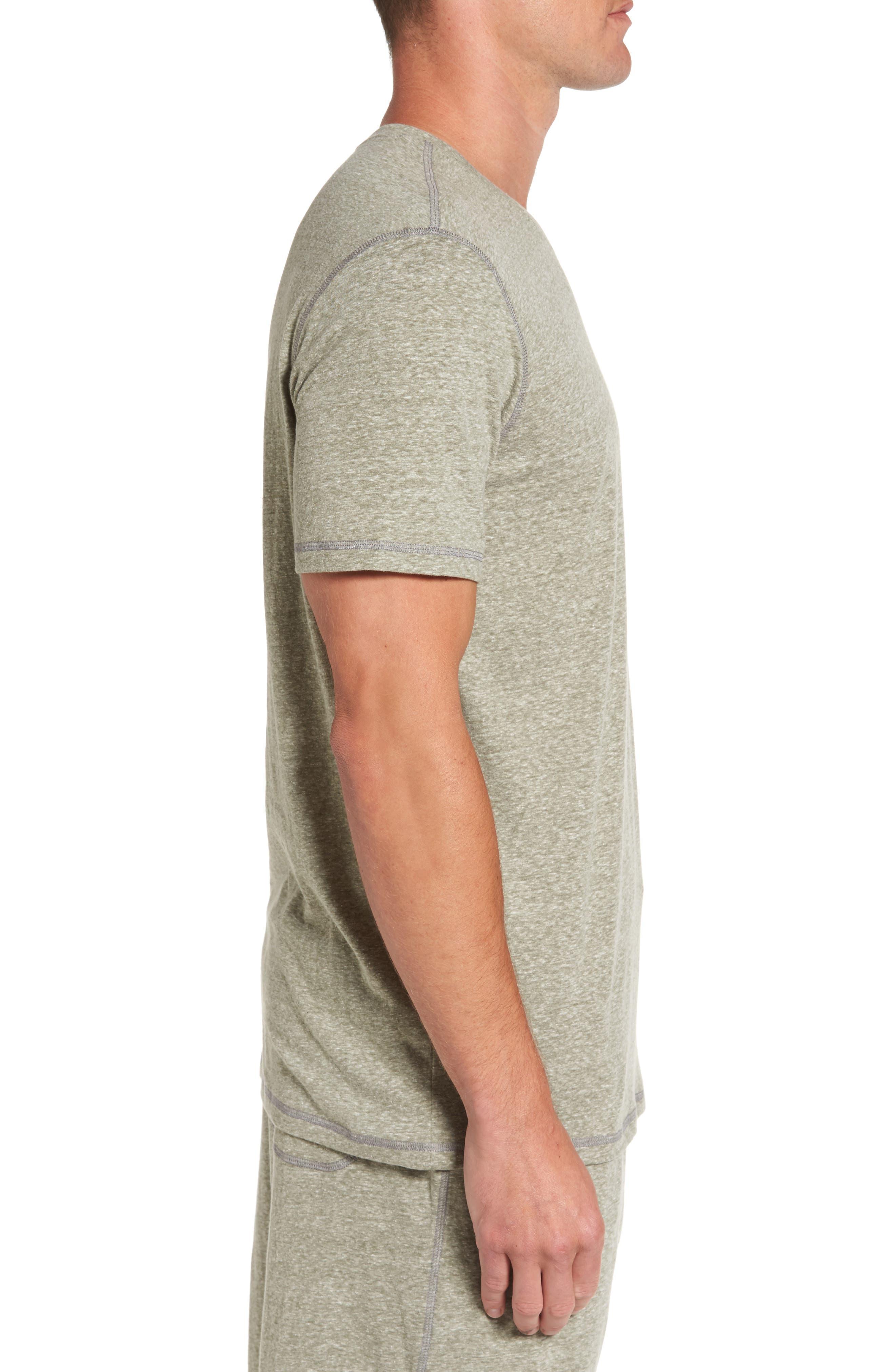 Cotton Blend T-Shirt,                             Alternate thumbnail 3, color,                             301