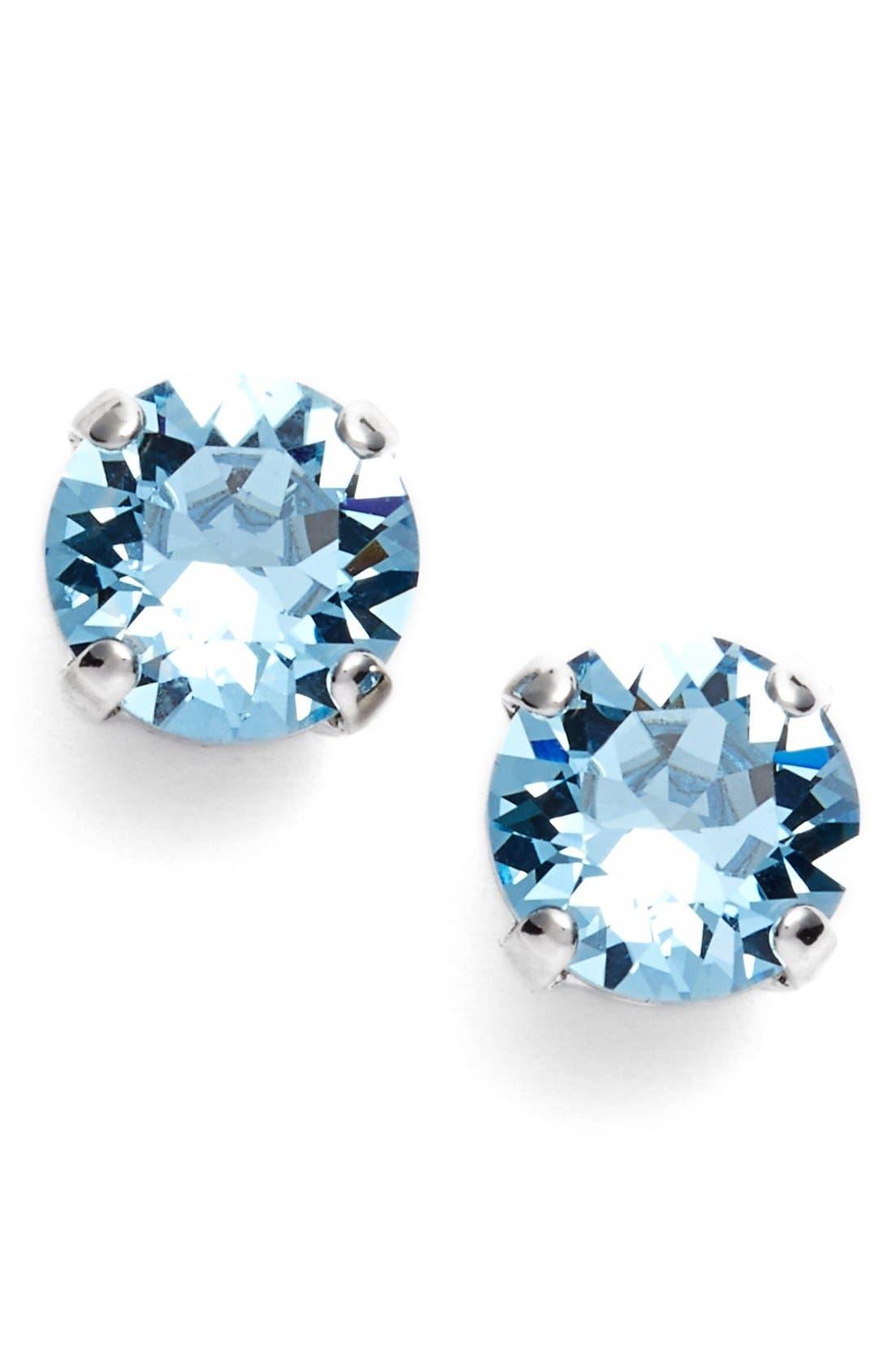 'Grace' Crystal Stud Earrings,                             Main thumbnail 9, color,