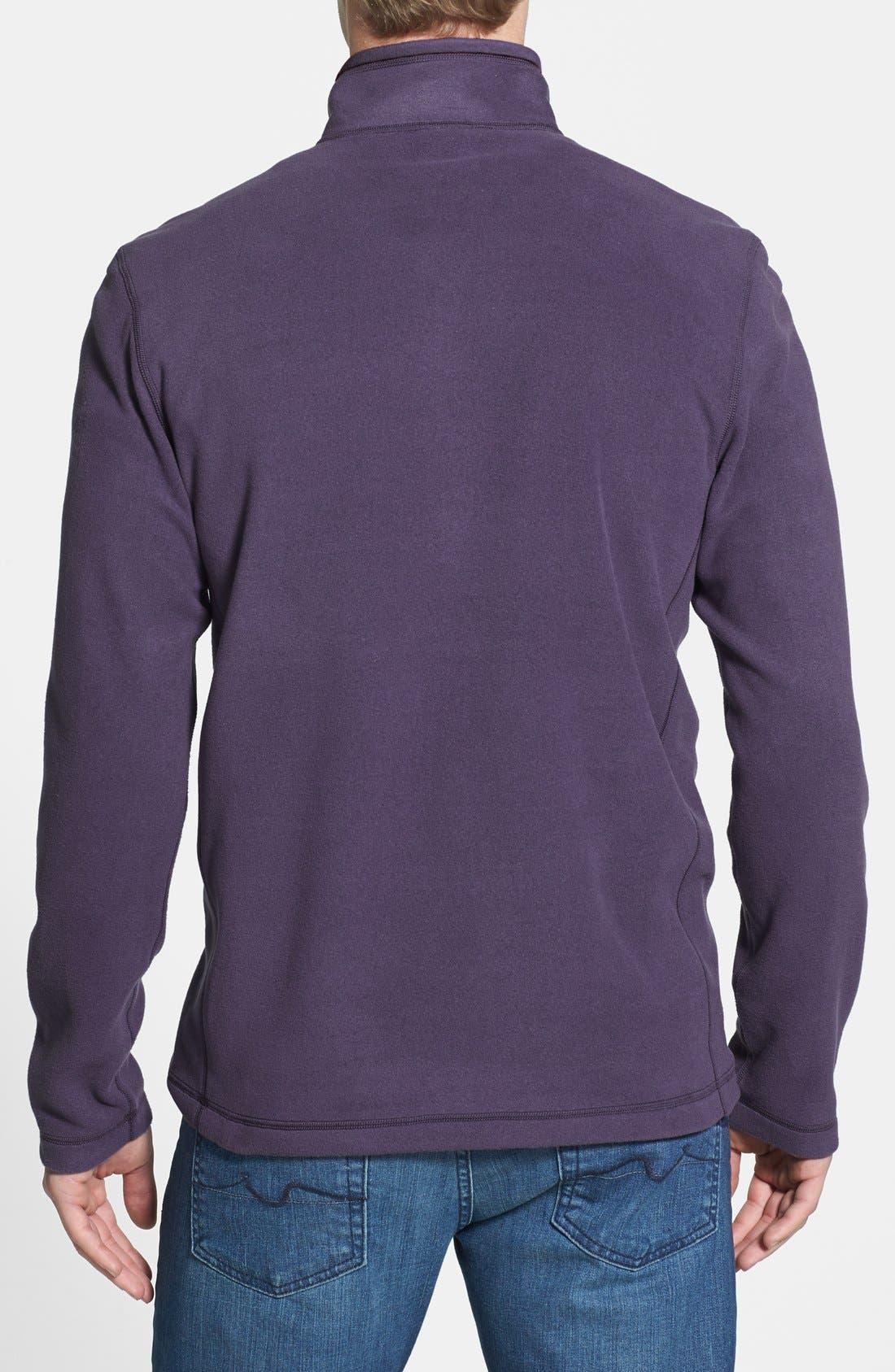 'TKA 100 Glacier' Quarter Zip Fleece Pullover,                             Alternate thumbnail 129, color,