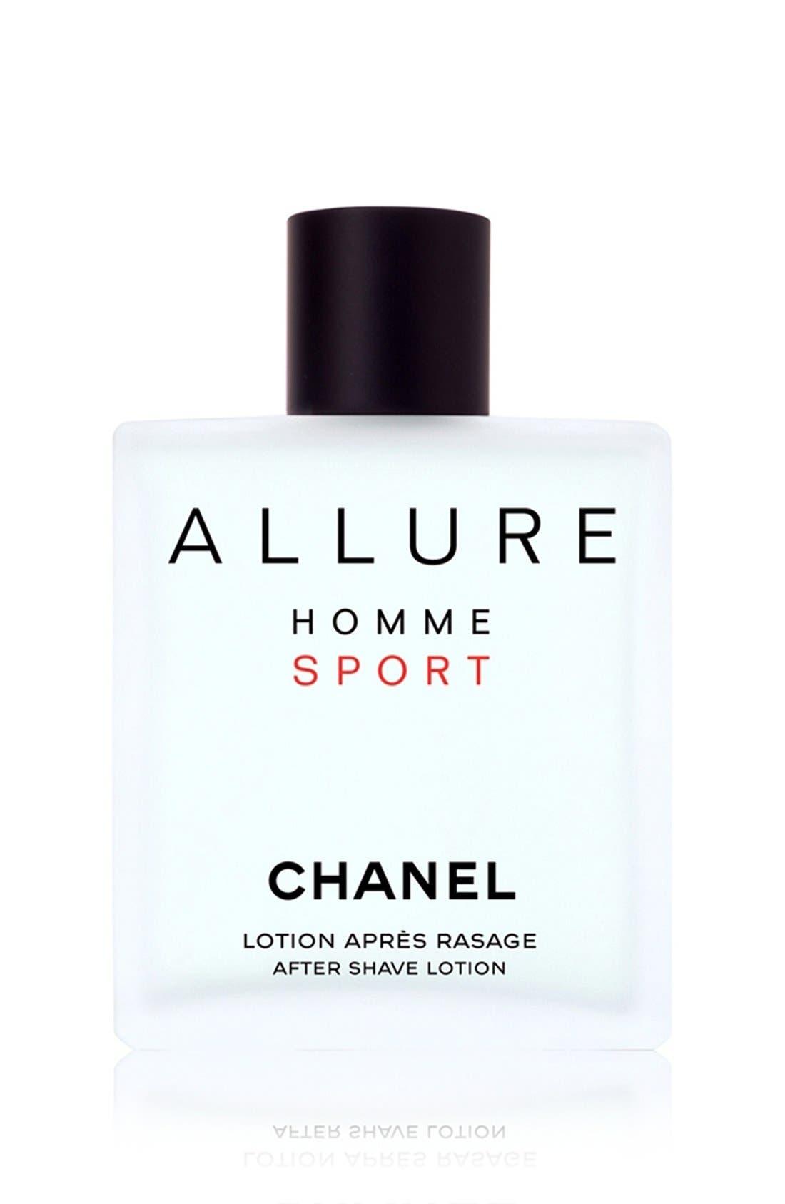 ALLURE HOMME SPORT<br />After Shave Lotion,                             Main thumbnail 1, color,                             NO COLOR