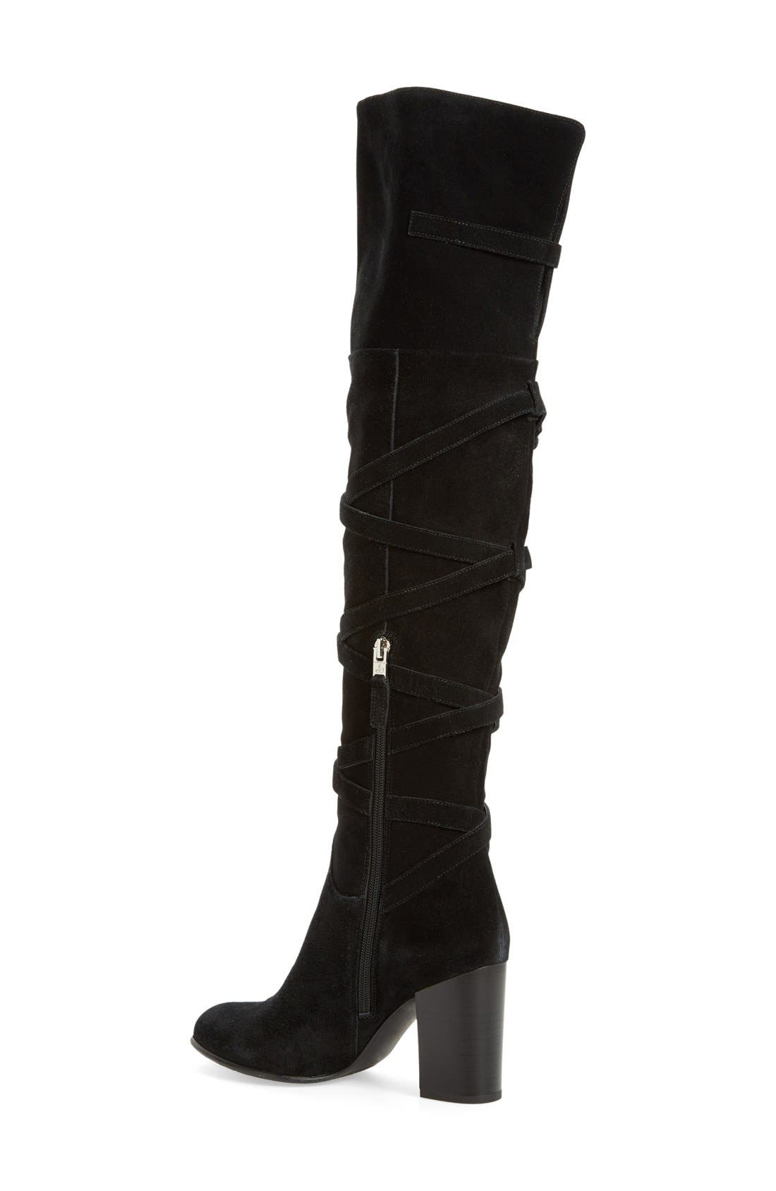 'Sable' Over the Knee Boot,                             Alternate thumbnail 2, color,                             002