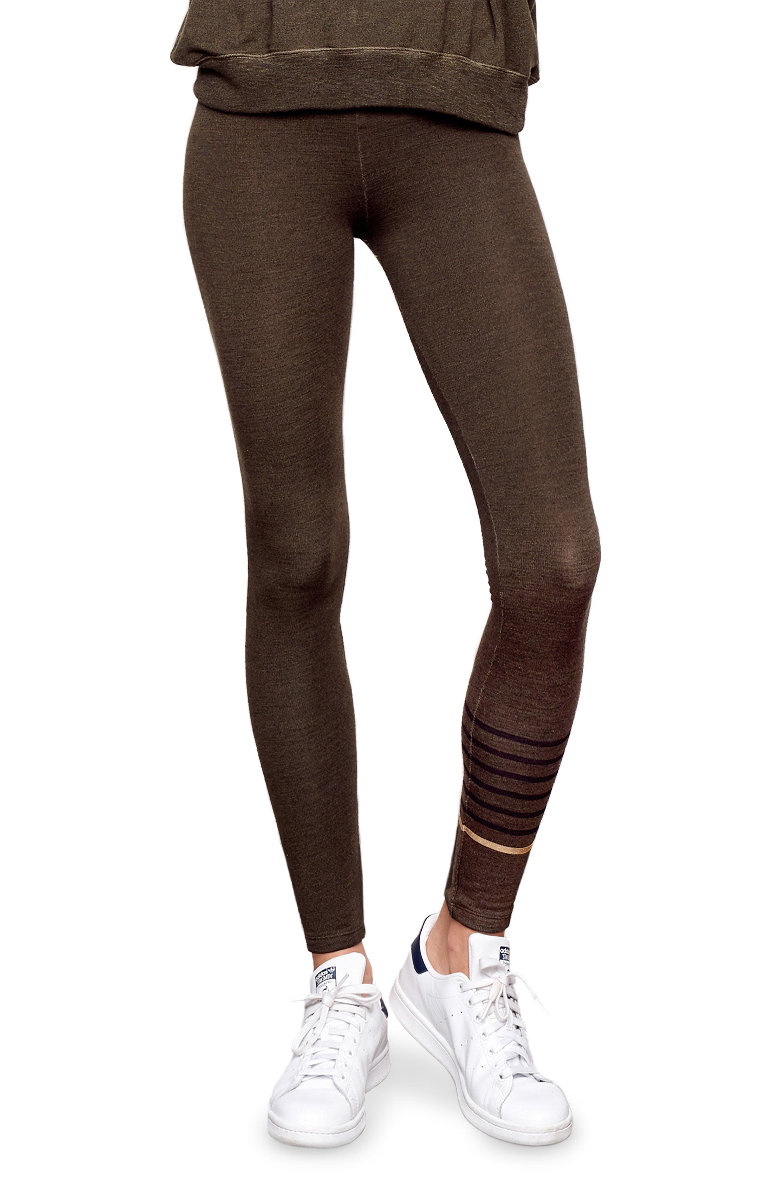 Stripe Yoga Pants,                             Main thumbnail 1, color,                             301