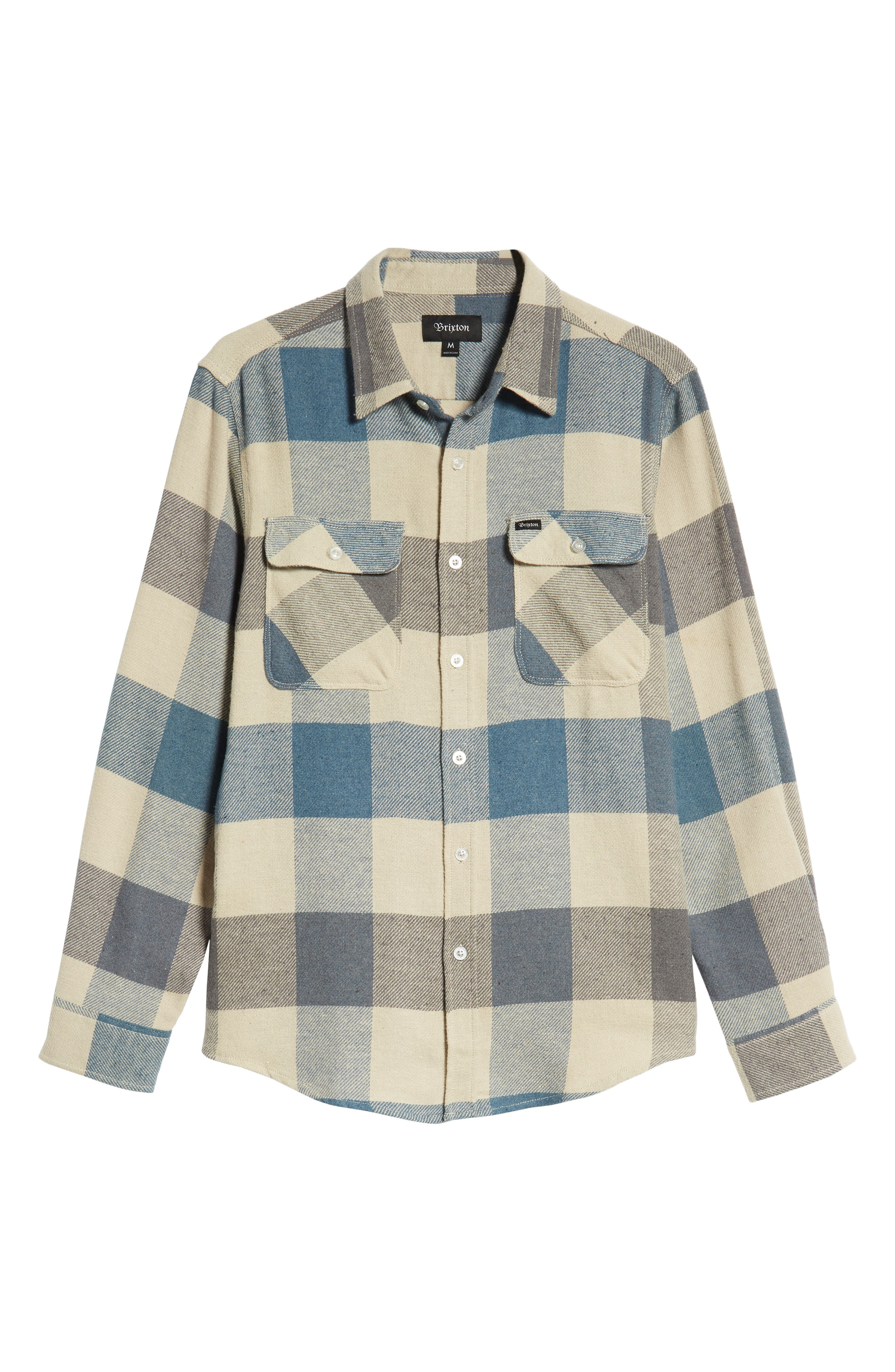 Bowery Flannel Shirt,                             Alternate thumbnail 52, color,