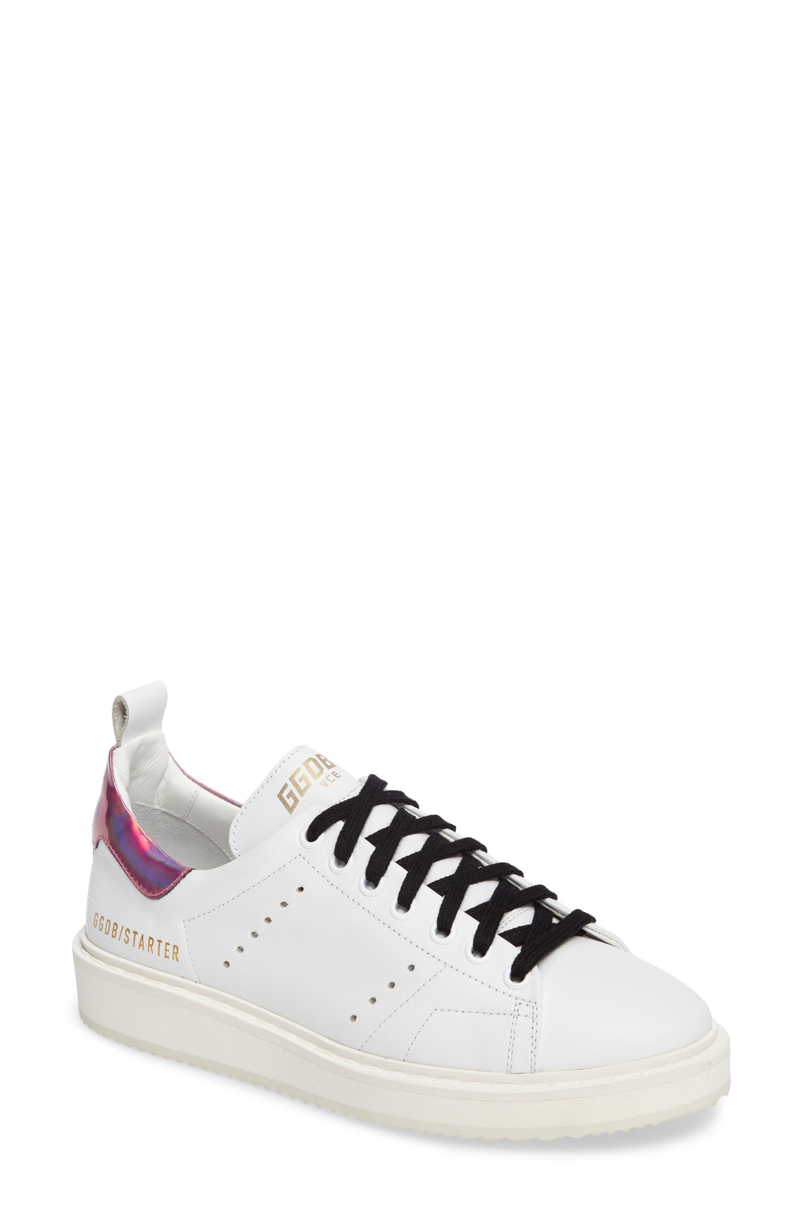 Starter Low Top Sneaker,                             Main thumbnail 1, color,                             100