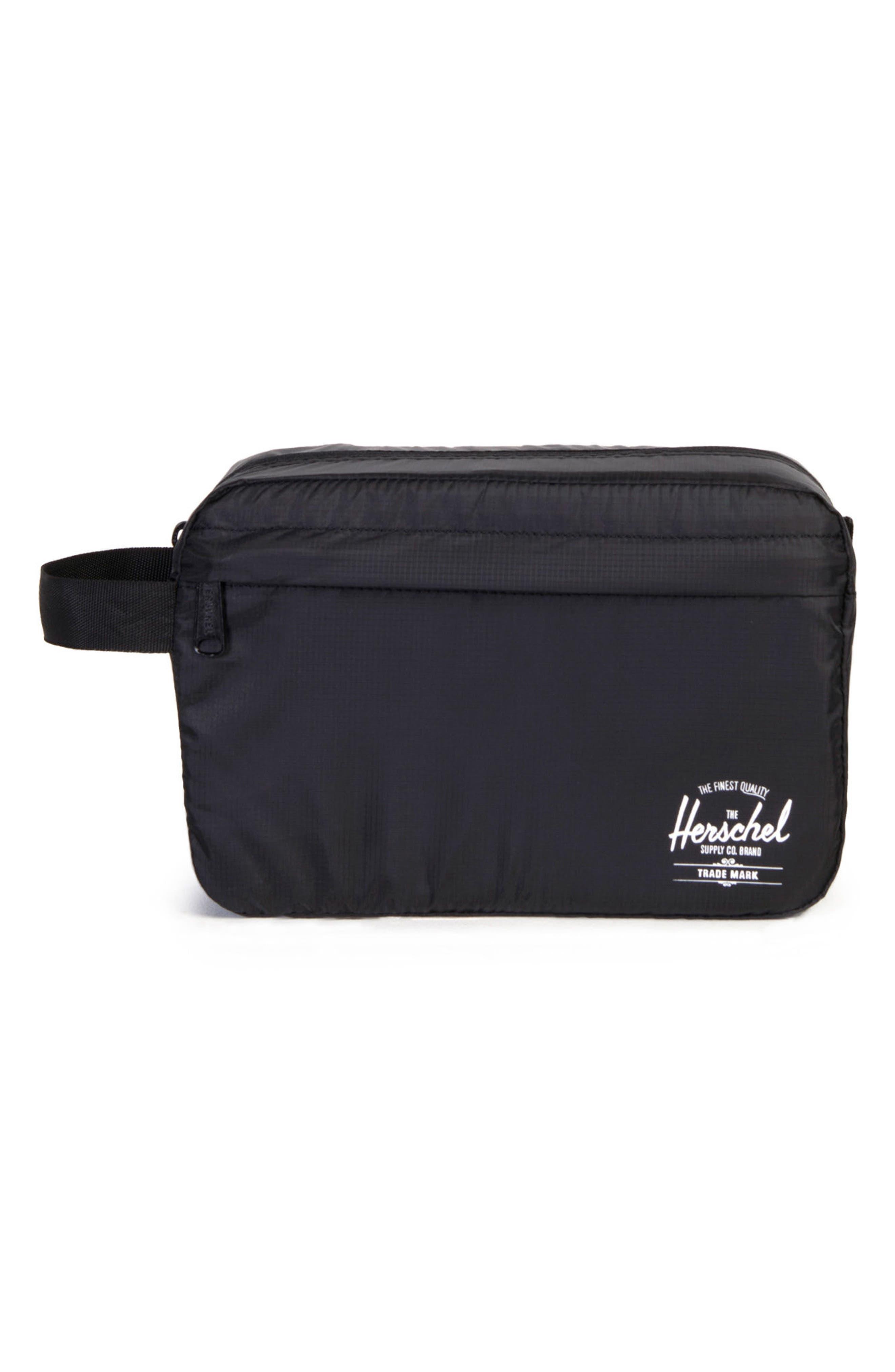 Toiletry Bag,                         Main,                         color, BLACK