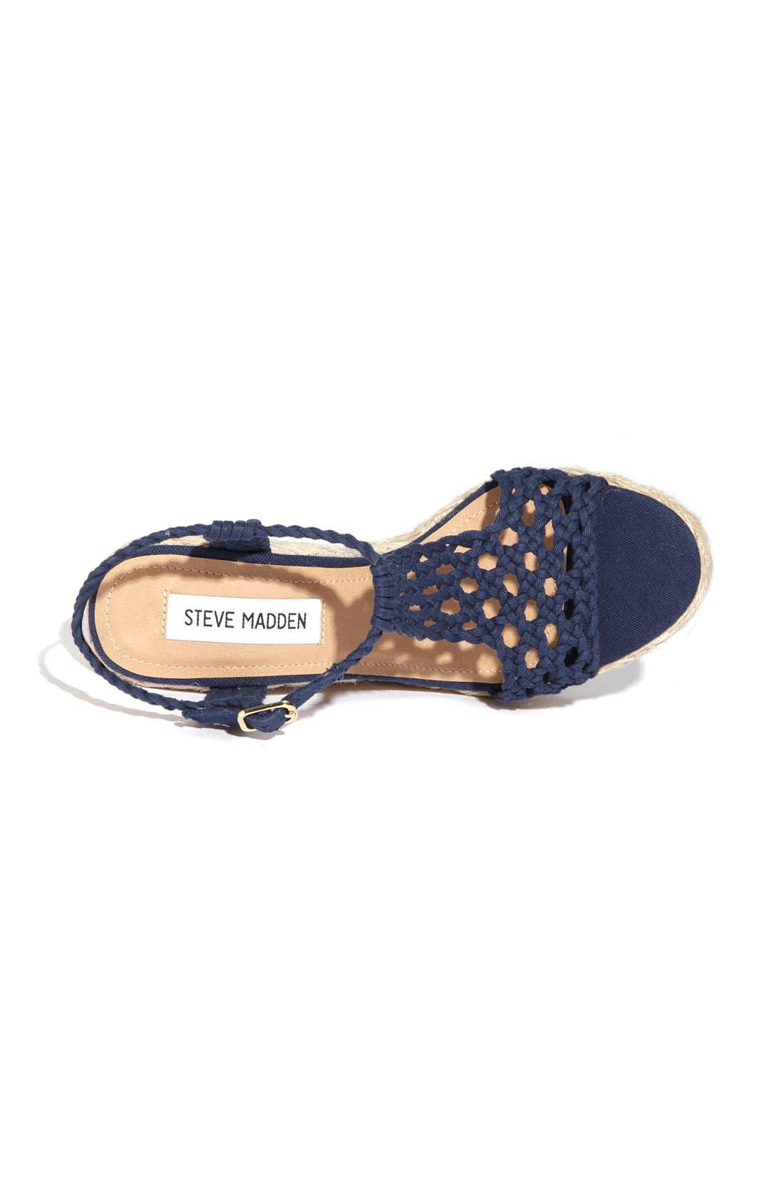 'Manngo' Woven Sandal,                             Alternate thumbnail 15, color,
