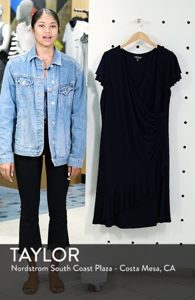 Hartley Ruffle Fit & Flare Dress, sales video thumbnail