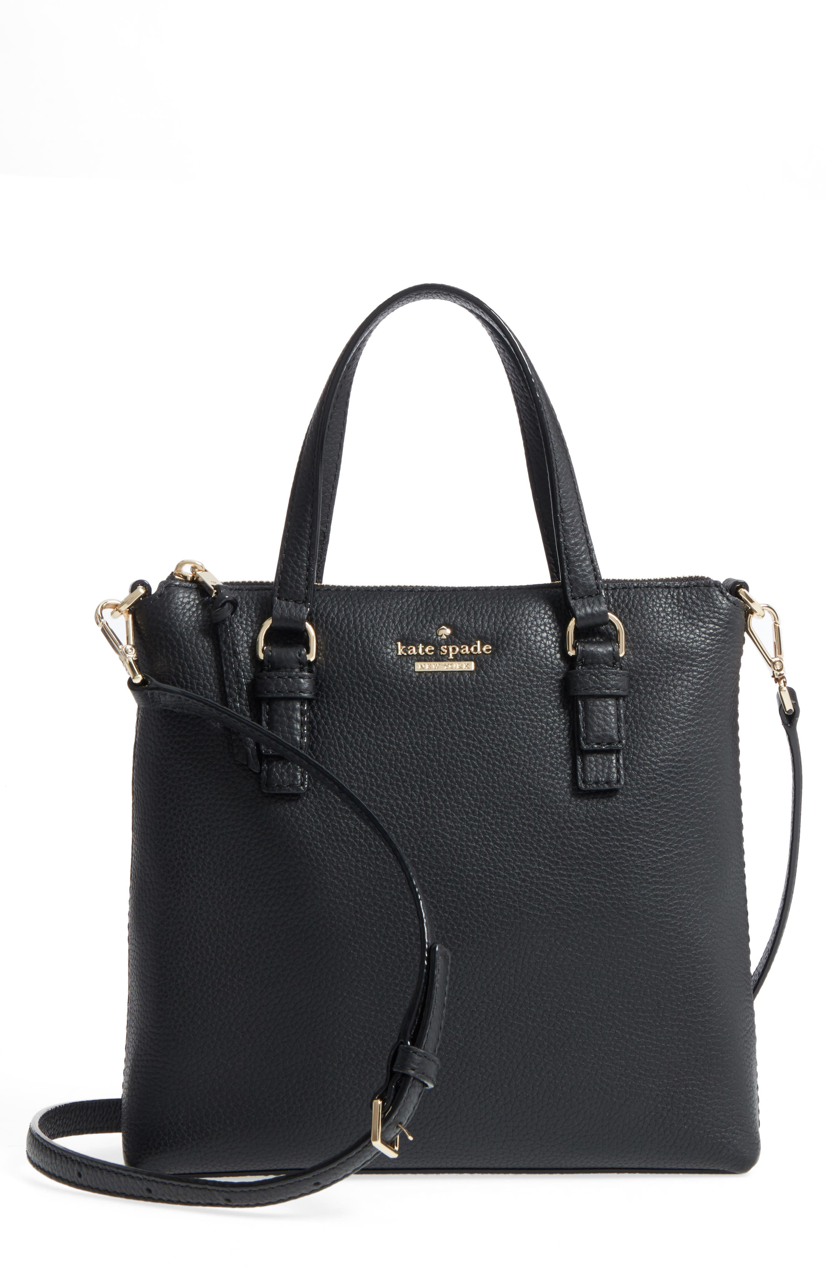 Kate Spade Jackson Street Hayley Leather Satchel