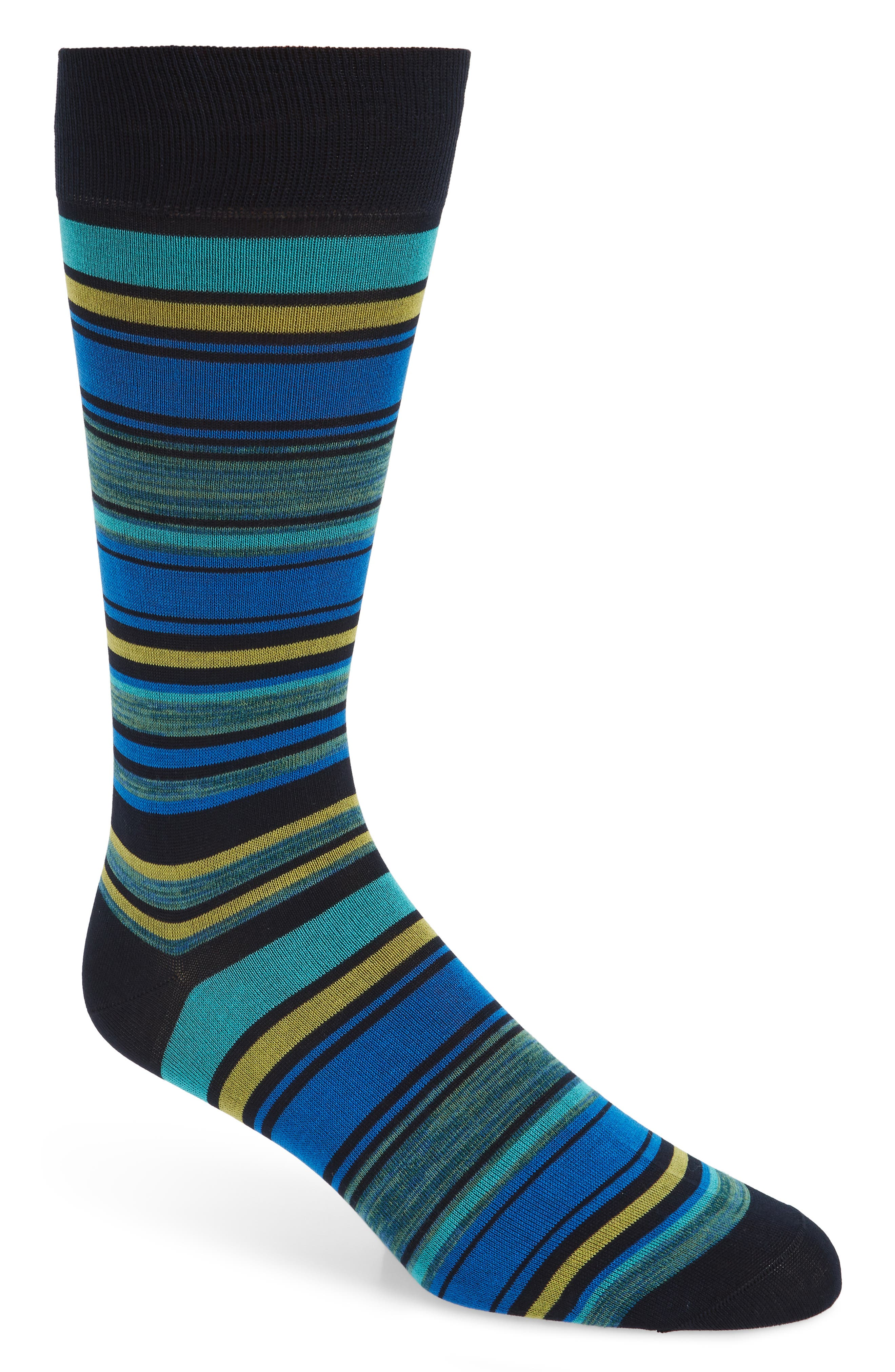 Stripe Socks,                         Main,                         color, 410