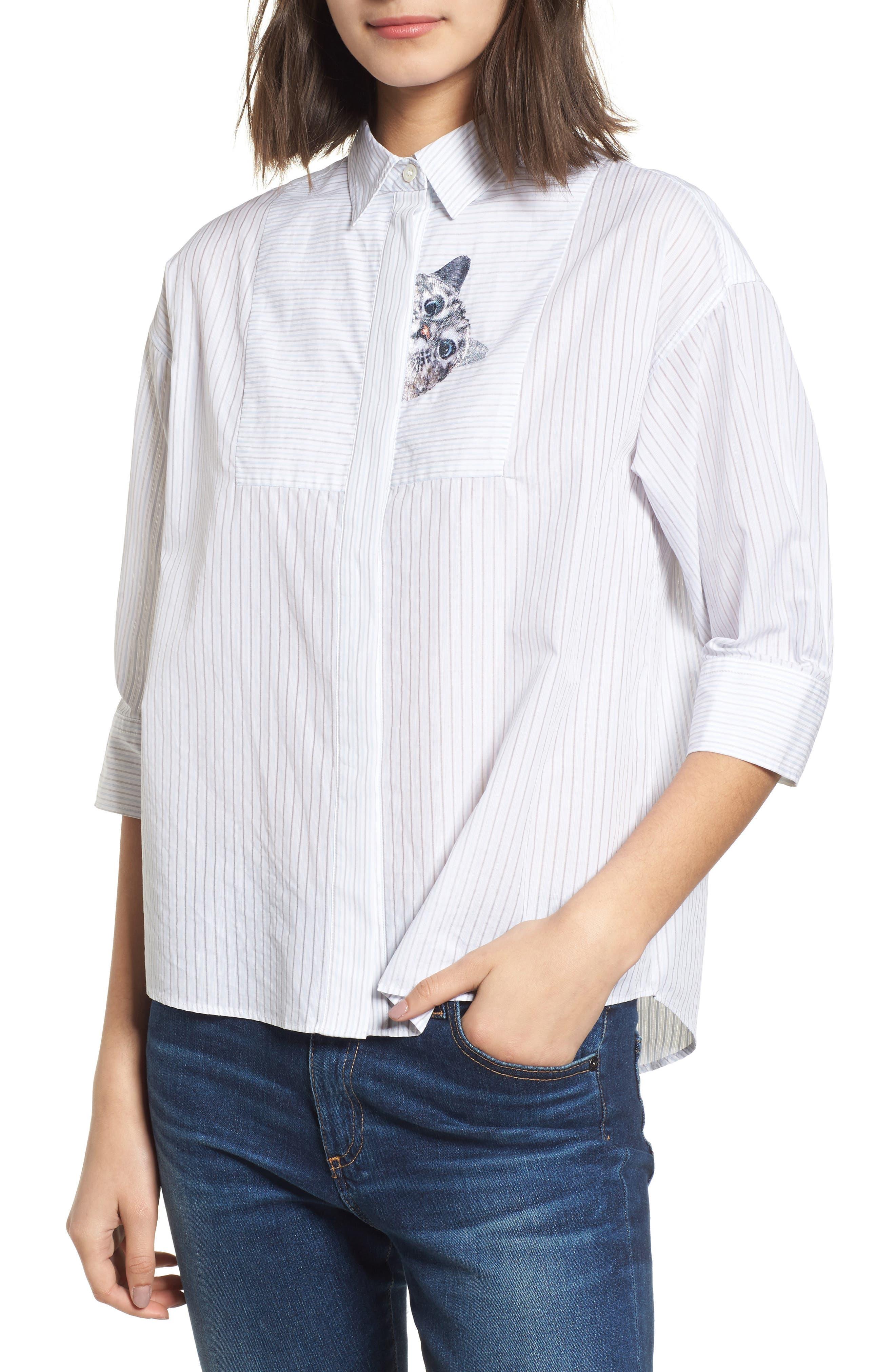 Babines Shirt,                             Main thumbnail 1, color,