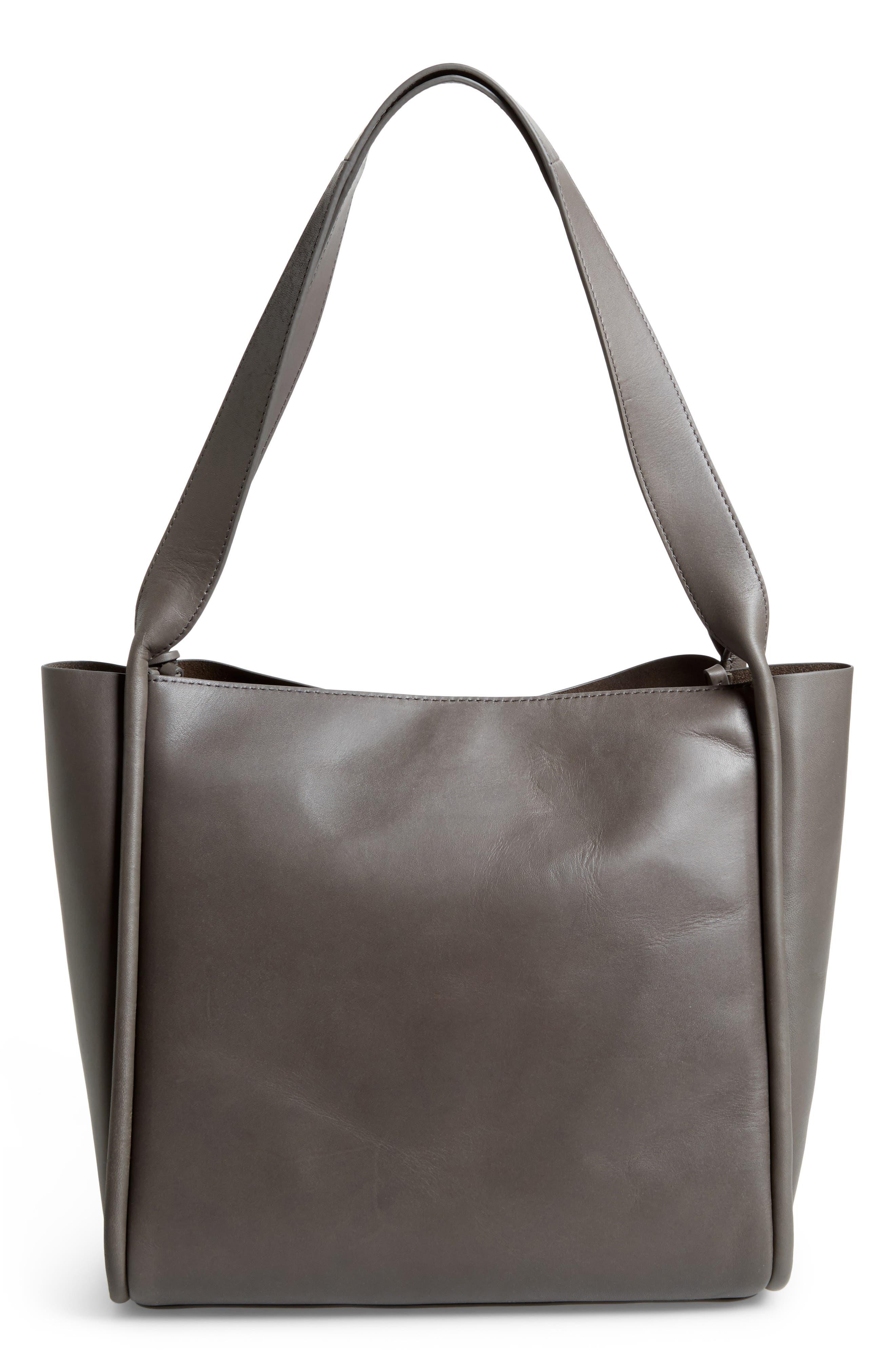 Karalie Leather Shoulder Bag,                             Alternate thumbnail 8, color,