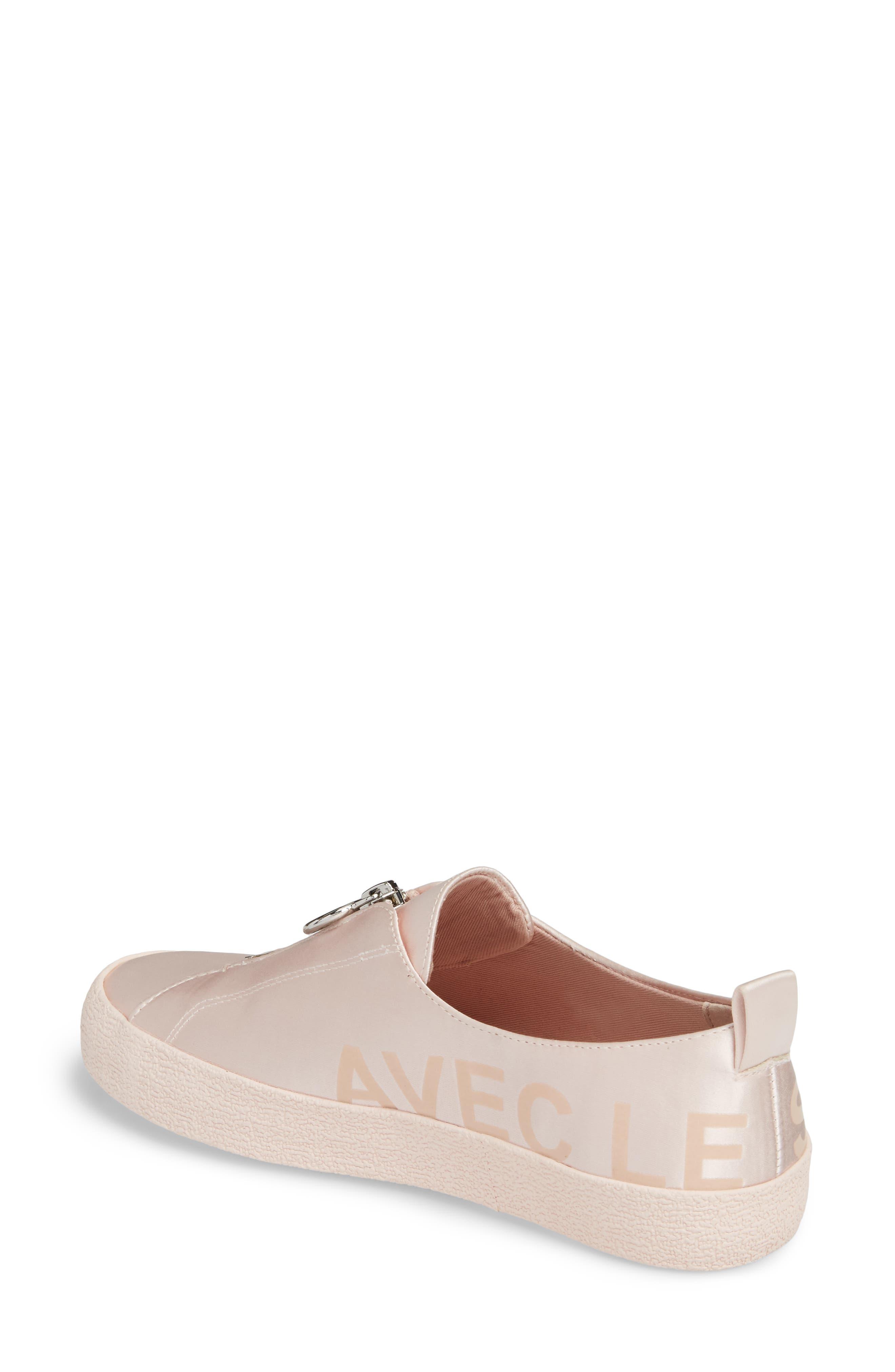 Sasha Zip Sneaker,                             Alternate thumbnail 6, color,