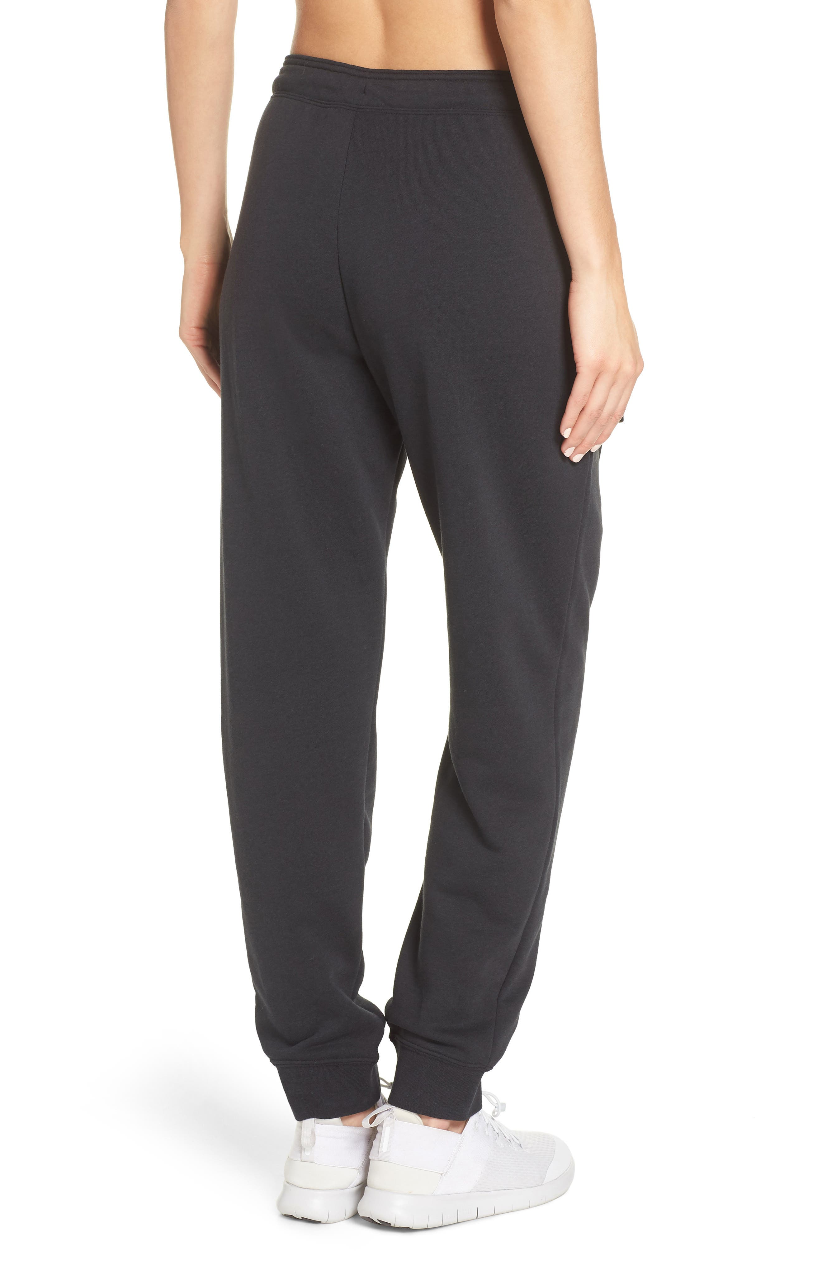 Sportswear Rally Jogger Pants,                             Alternate thumbnail 2, color,                             BLACK/ BLACK/ WHITE