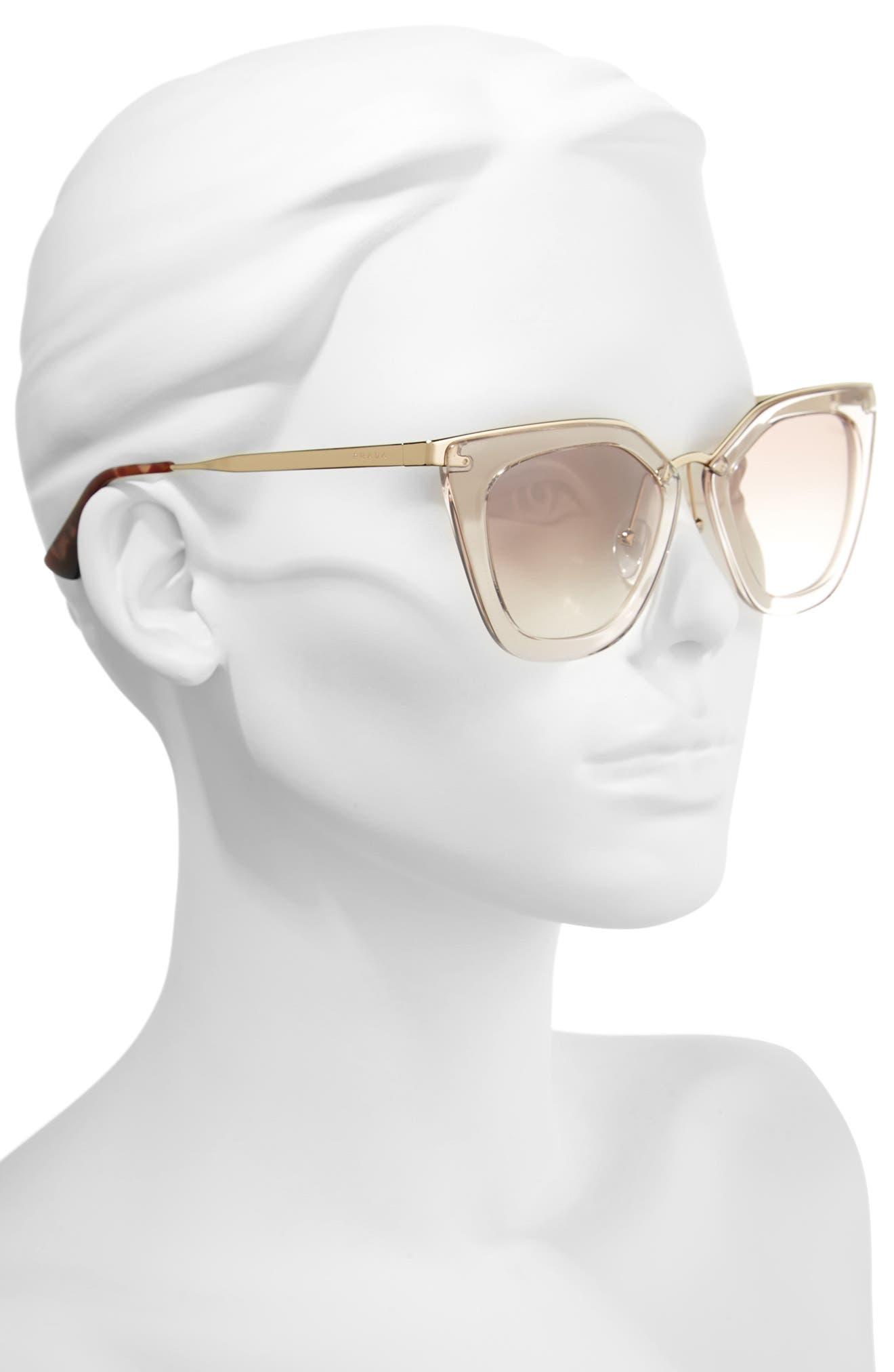 52mm Retro Sunglasses,                             Alternate thumbnail 3, color,                             200