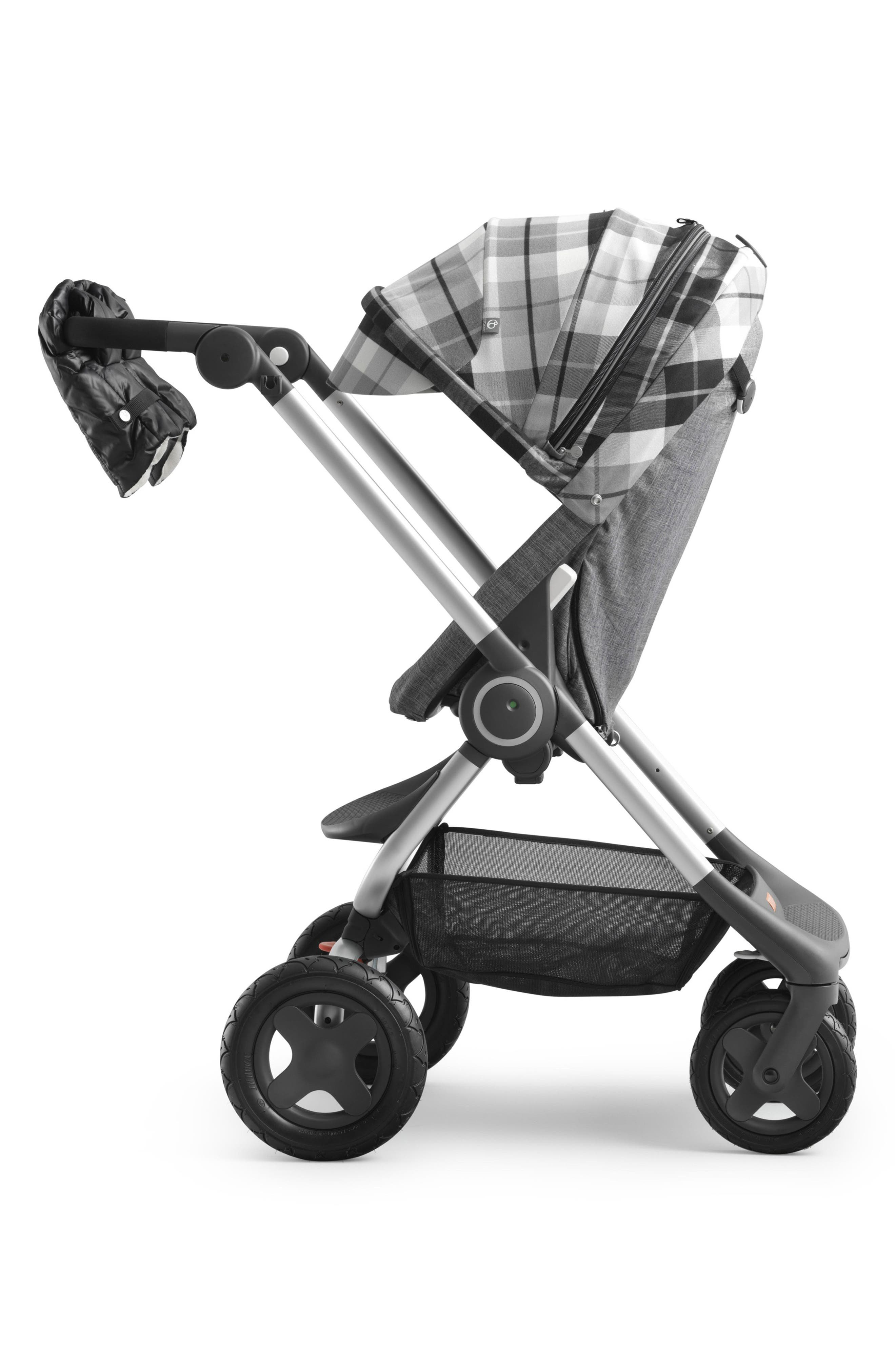 Stroller Scoot Winter Kit,                         Main,                         color, FLANNEL GREY