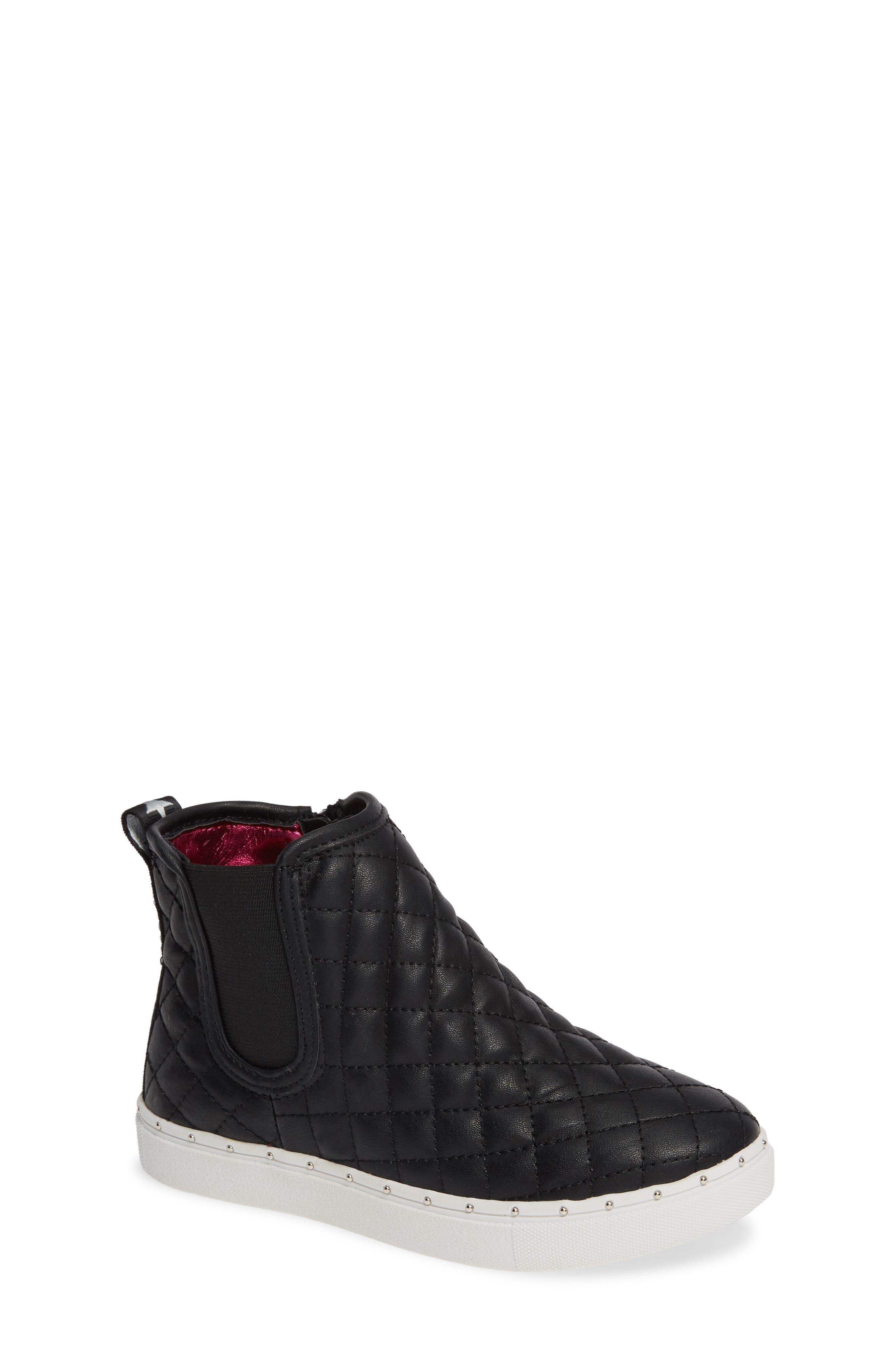 JQuest High Top Platform Sneaker,                         Main,                         color, BLACK