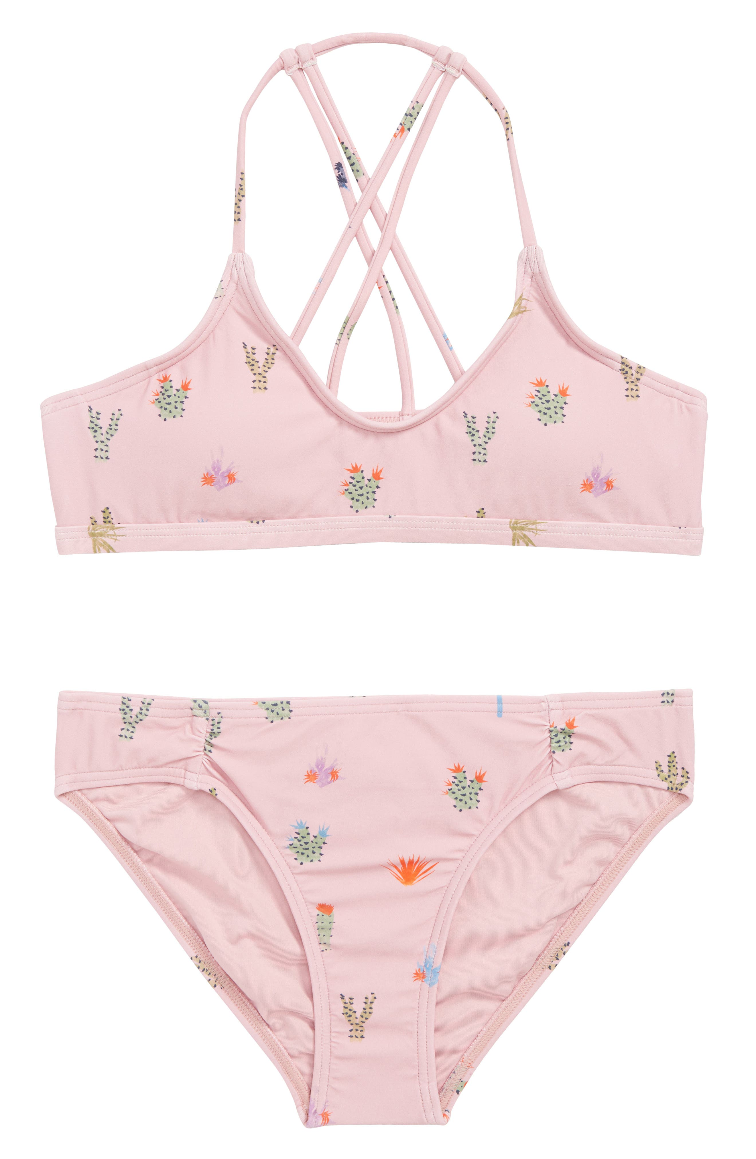 Cacti Two-Piece Swimsuit,                         Main,                         color, CACTI