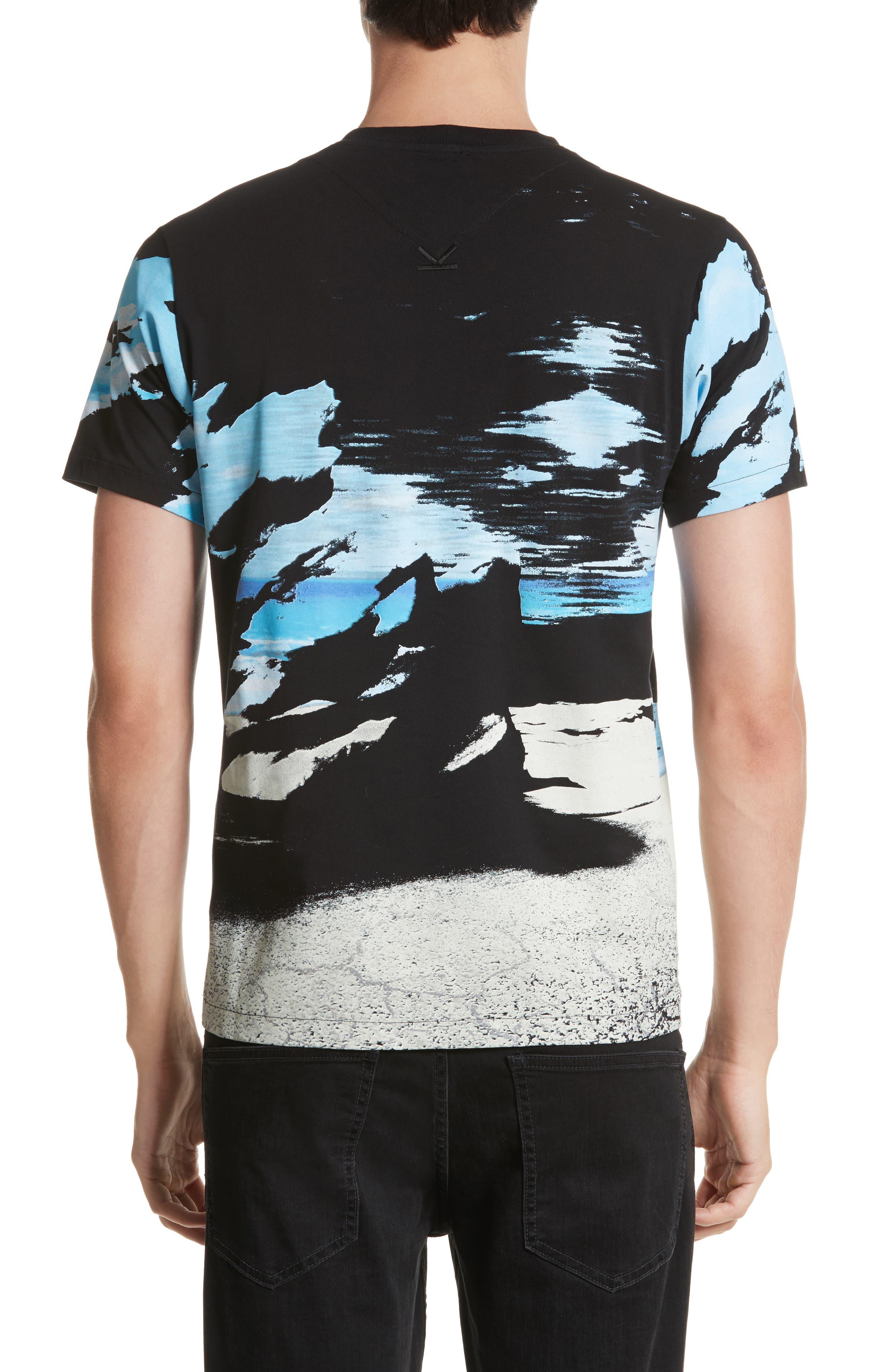 Abstract Landscape T-Shirt,                             Alternate thumbnail 2, color,                             452