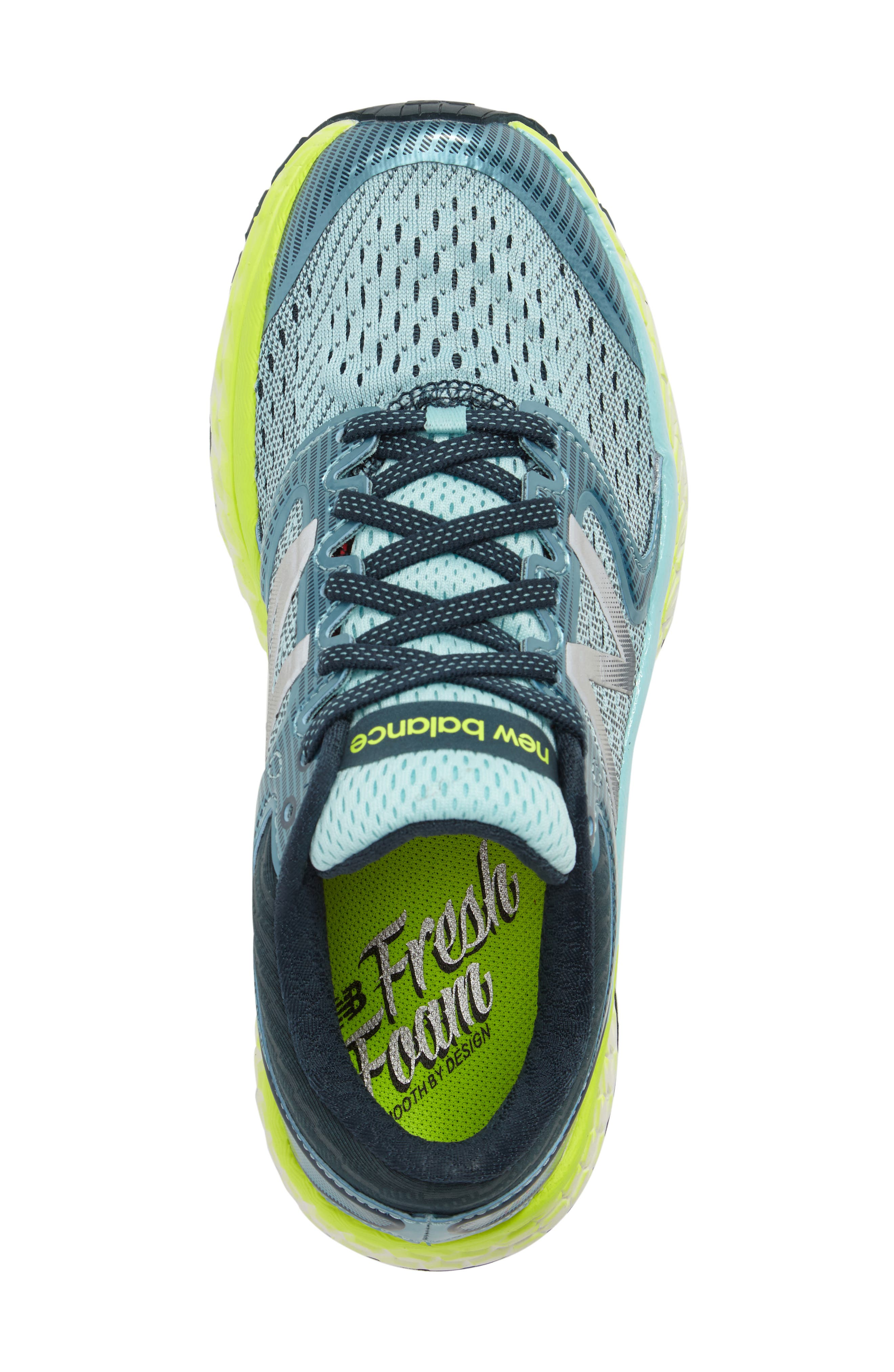 '1080 - Fresh Foam' Running Shoe,                             Alternate thumbnail 5, color,                             OZONE BLUE GLOW