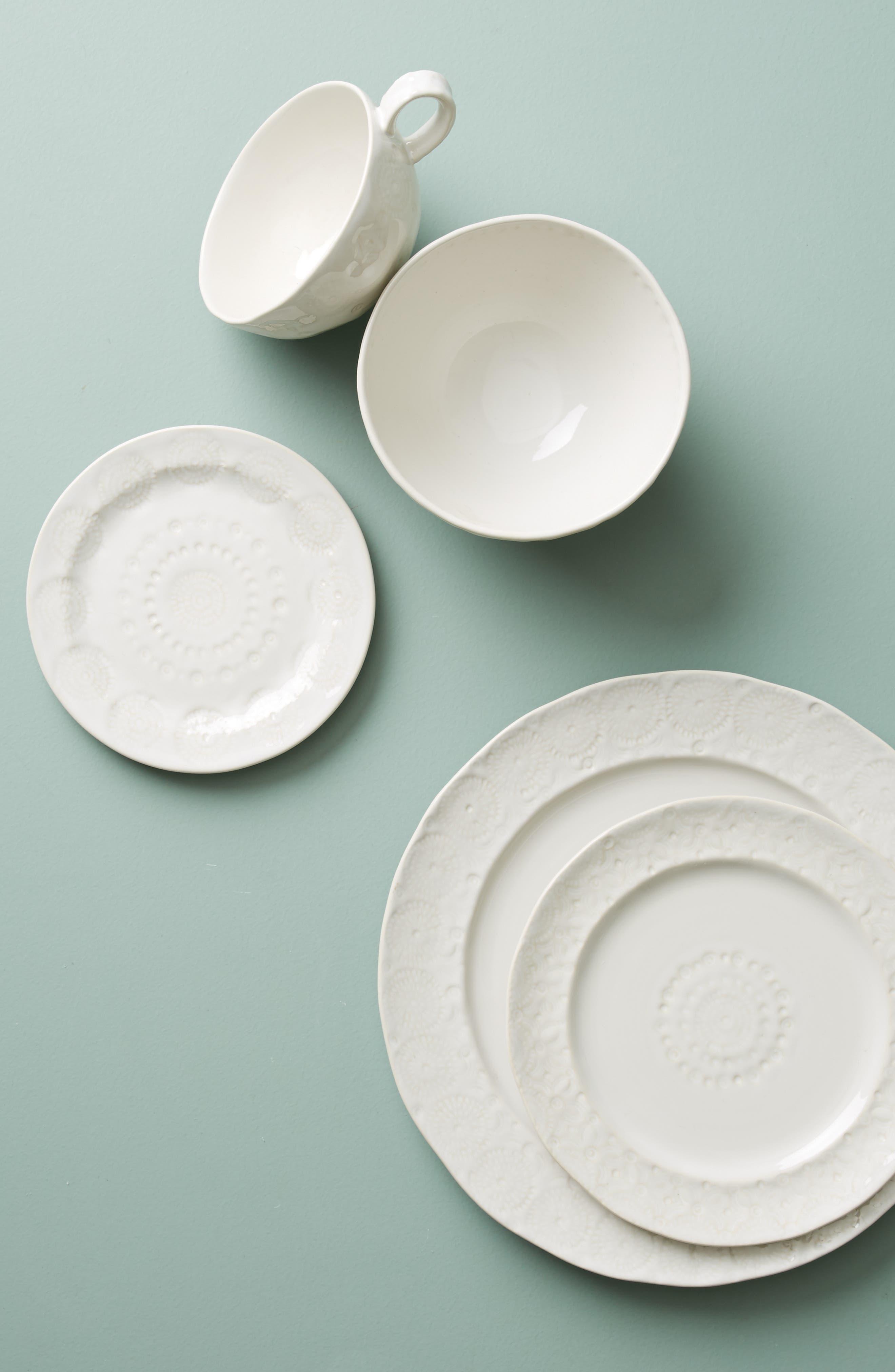 Old Havana Stoneware Side Plate,                             Alternate thumbnail 2, color,                             WHITE