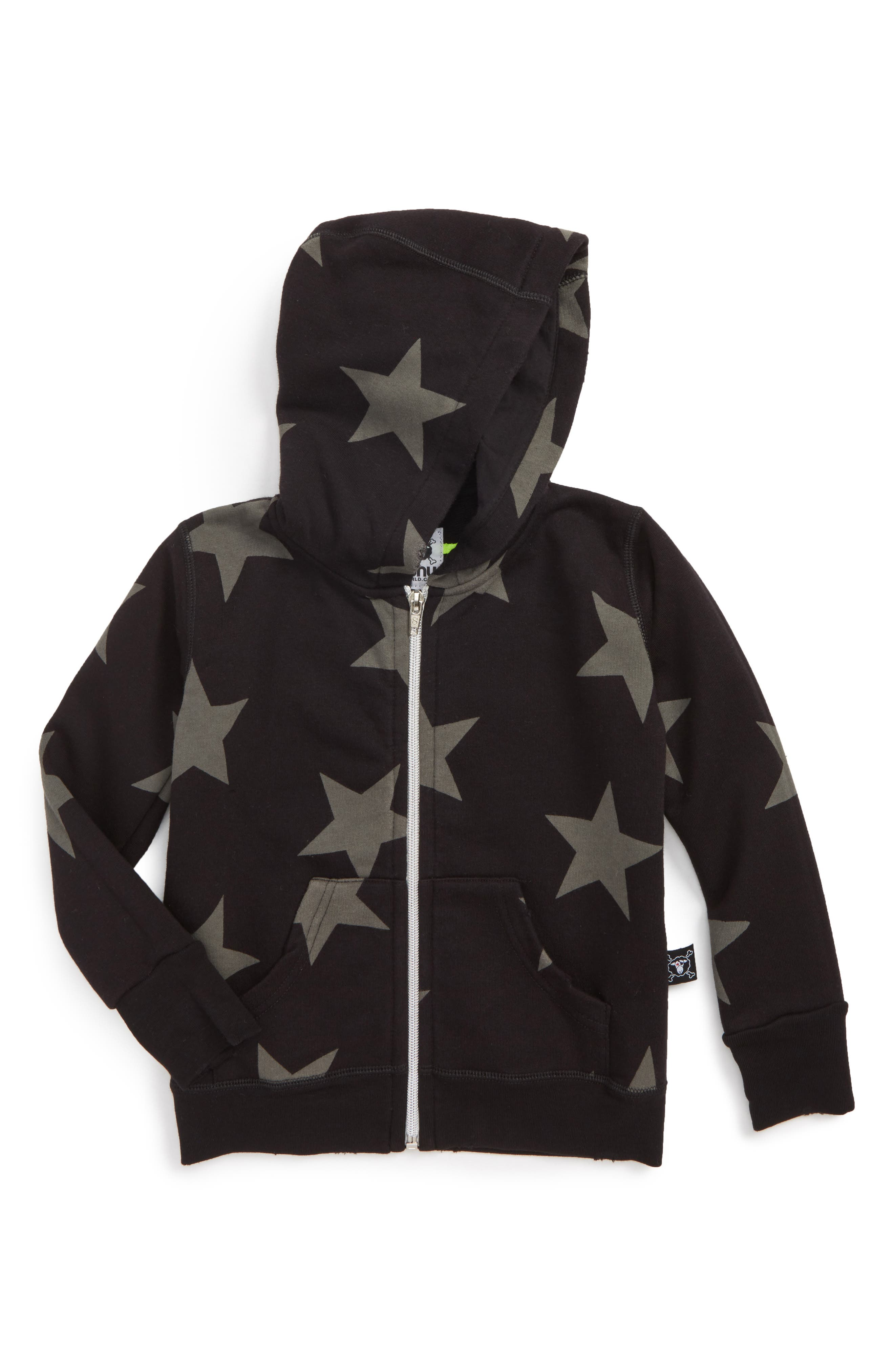 Star Zip Hoodie,                         Main,                         color, 001