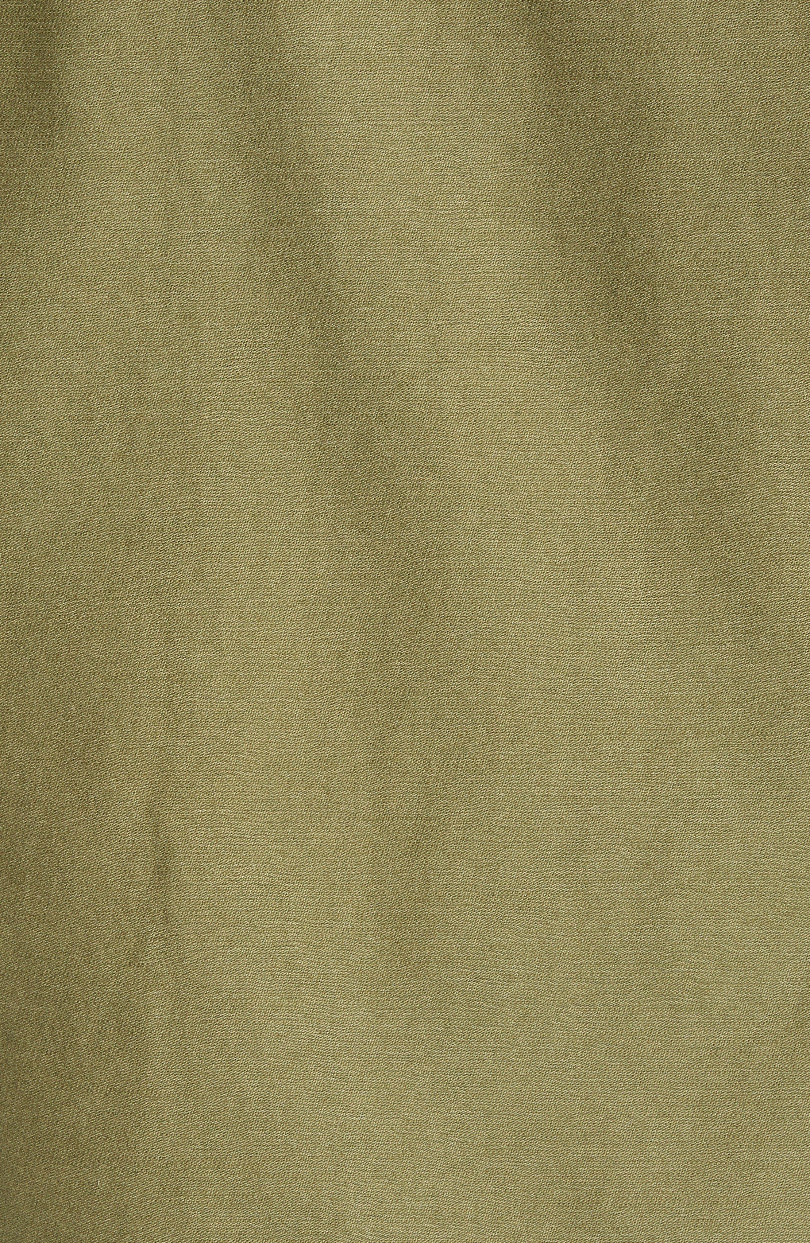 Burkey Jacket,                             Alternate thumbnail 7, color,                             VINE GREEN
