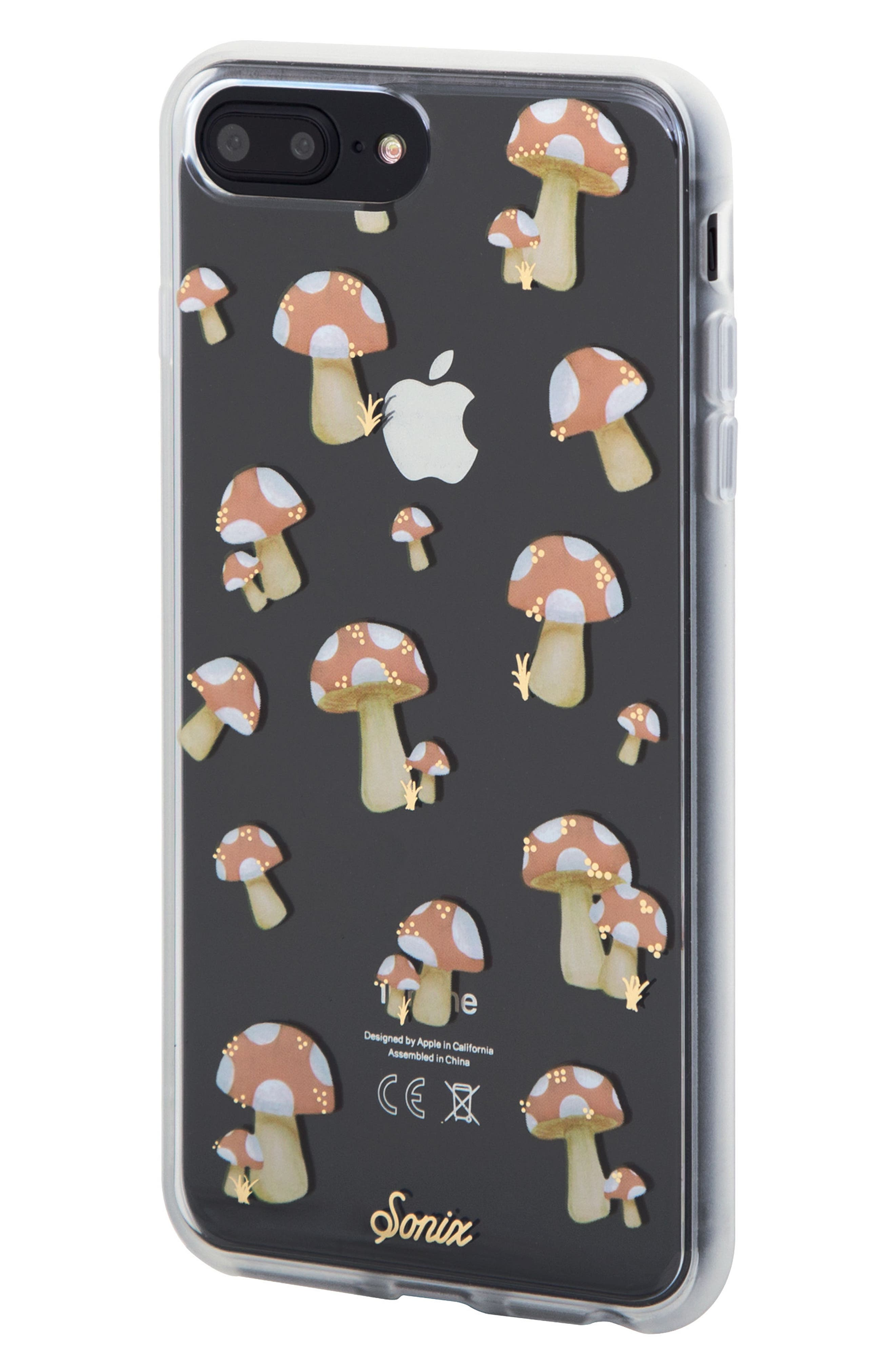 Mushroom iPhone 6/6s/7/8 & 6/6s/7/8 Plus Case,                             Alternate thumbnail 2, color,                             650