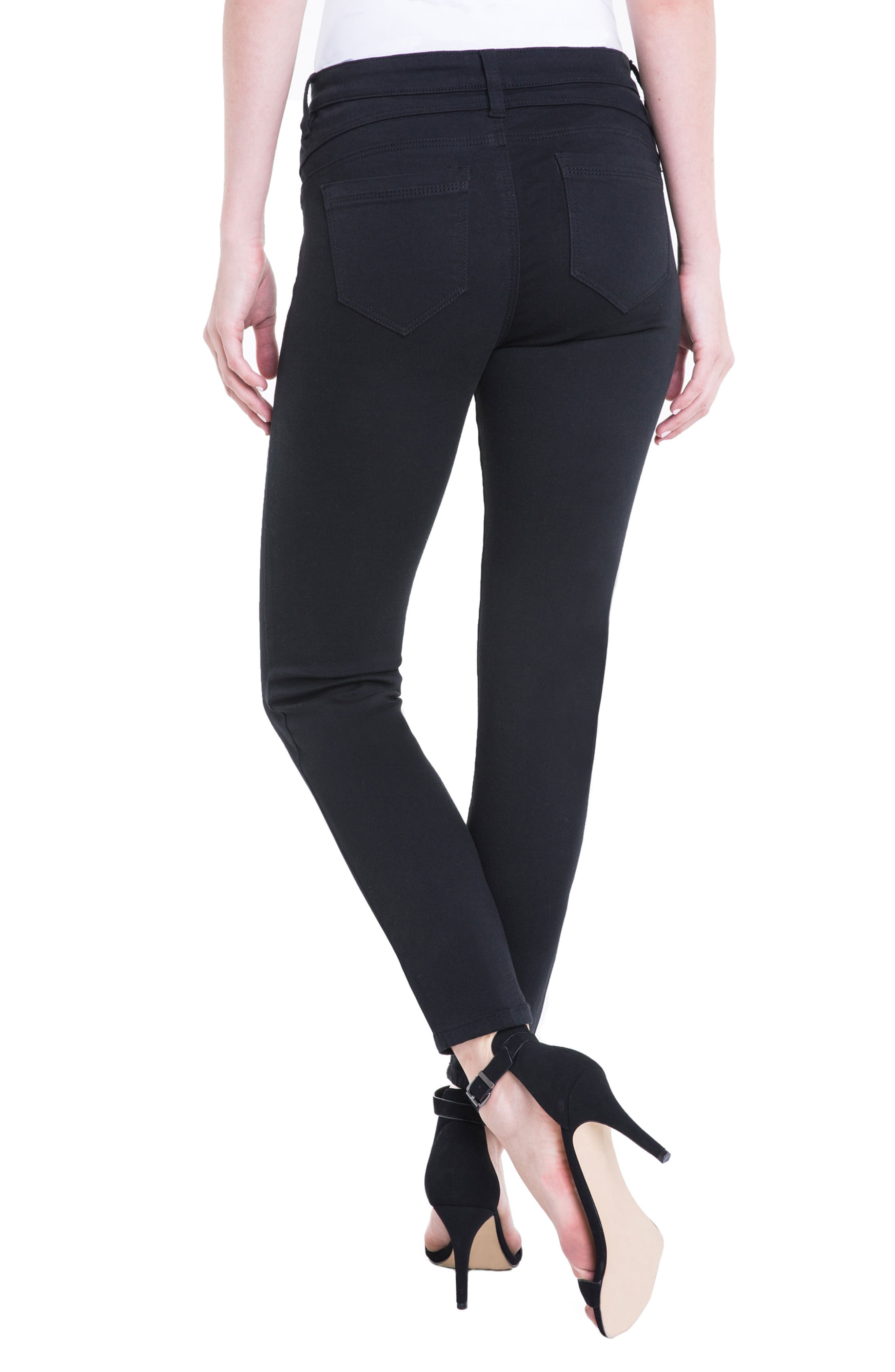 Remy Zipper Stretch Skinny Jeans,                             Alternate thumbnail 2, color,