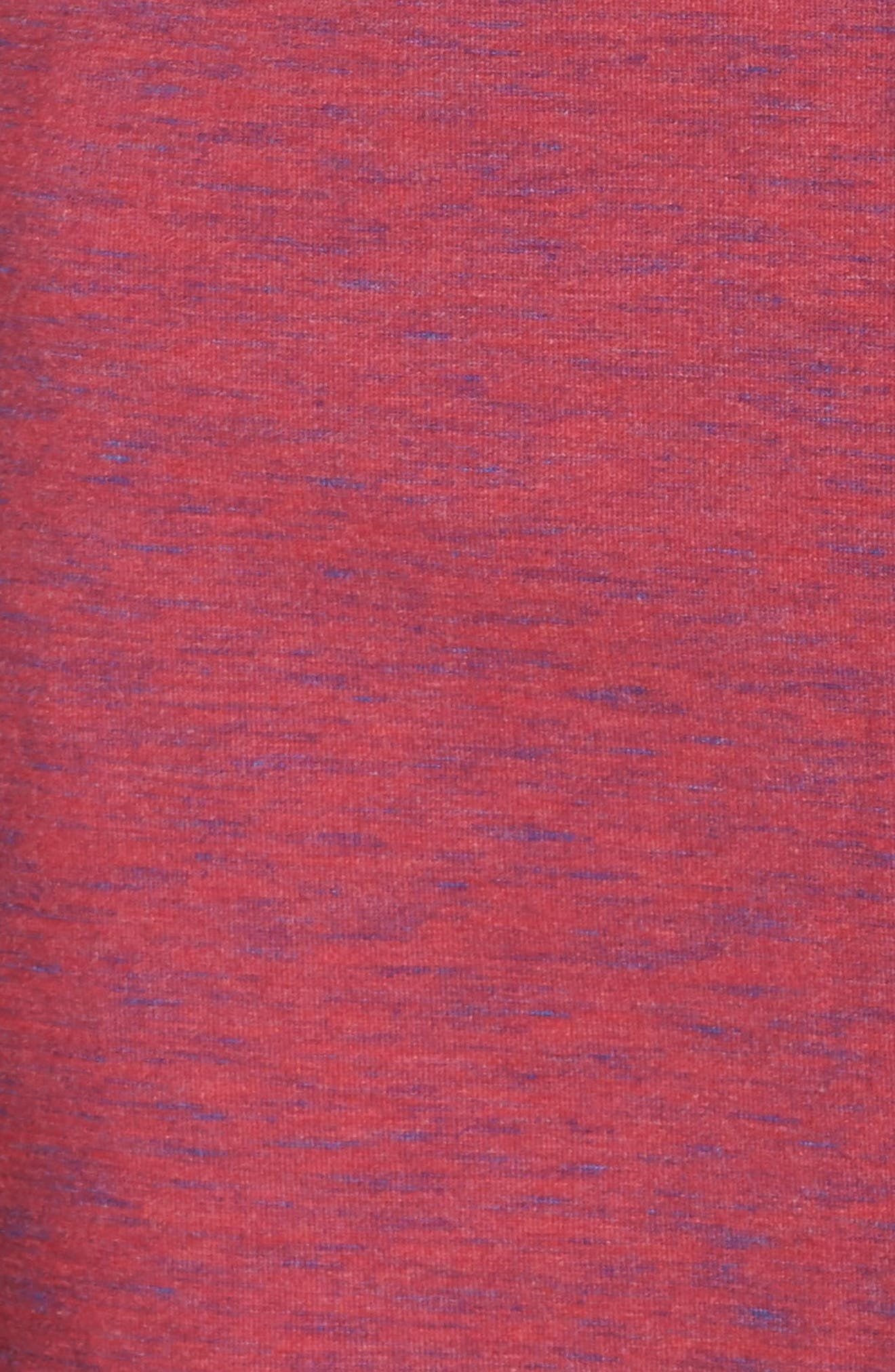 NORDSTROM LINGERIE,                             Moonlight Pajamas,                             Alternate thumbnail 5, color,                             BURGUNDY SPACEDYE