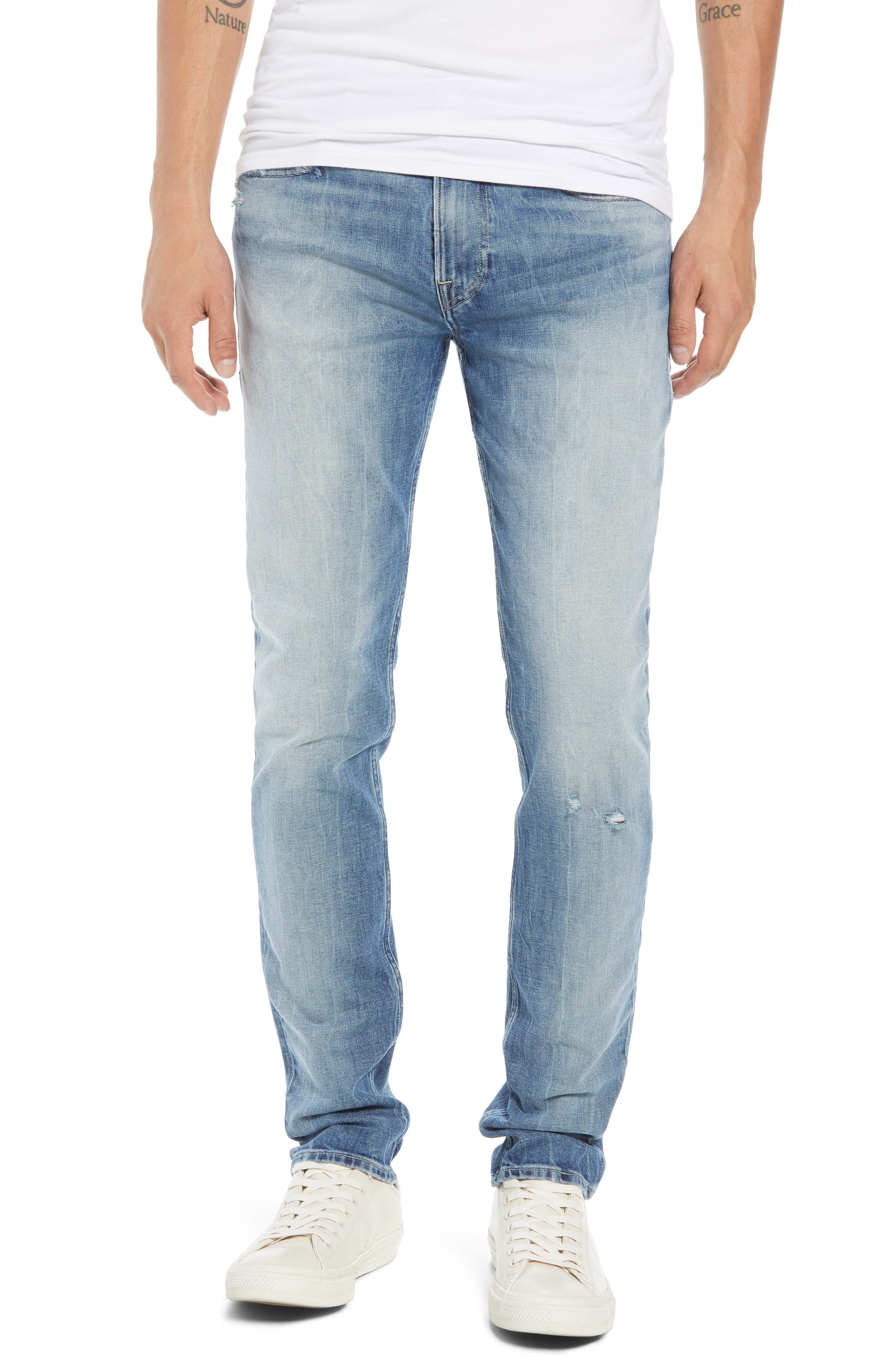 Axl Skinny Fit Jeans,                         Main,                         color, GIBSON