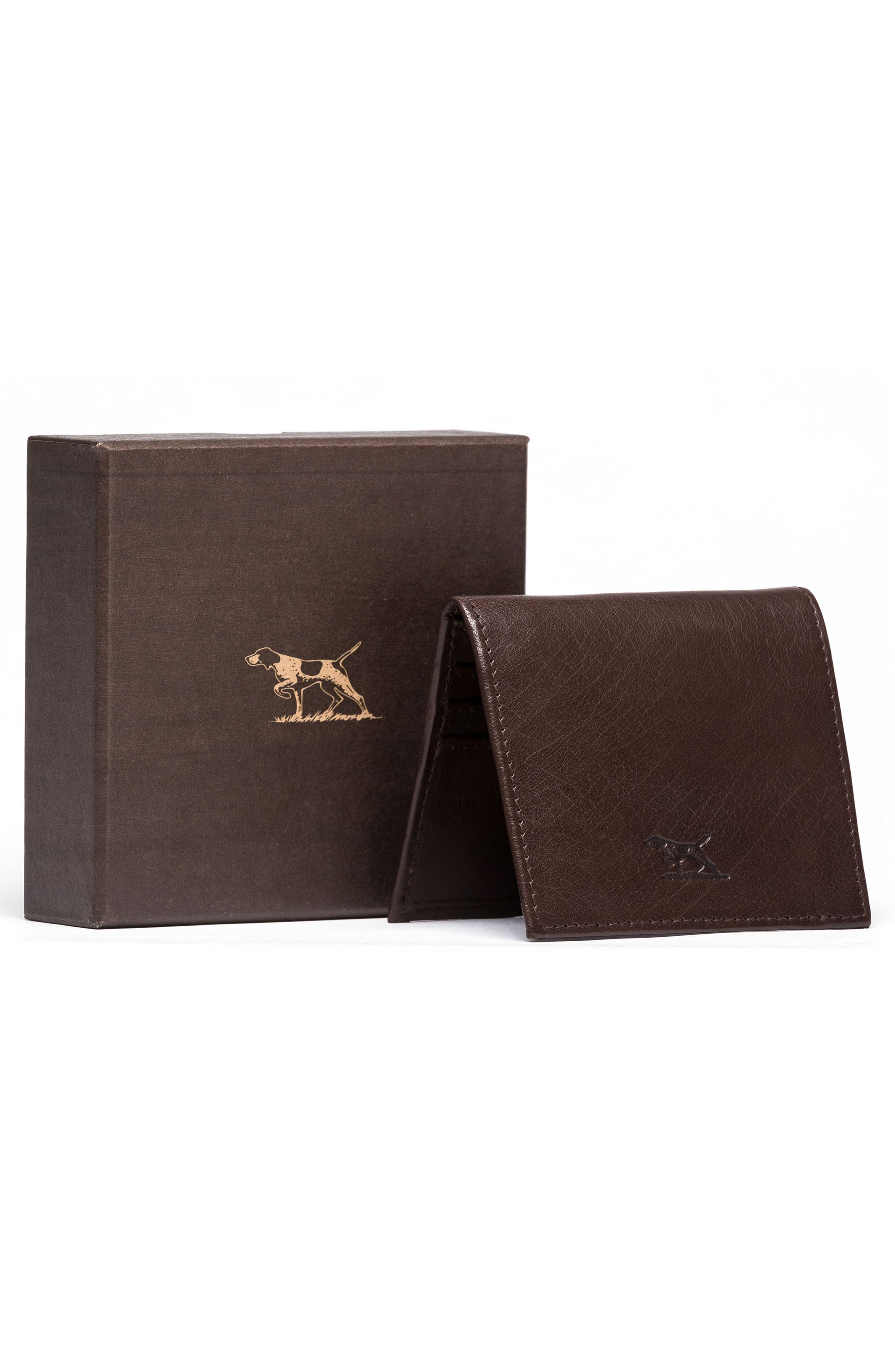 Four Mile Bay Leather Wallet,                             Alternate thumbnail 3, color,                             247