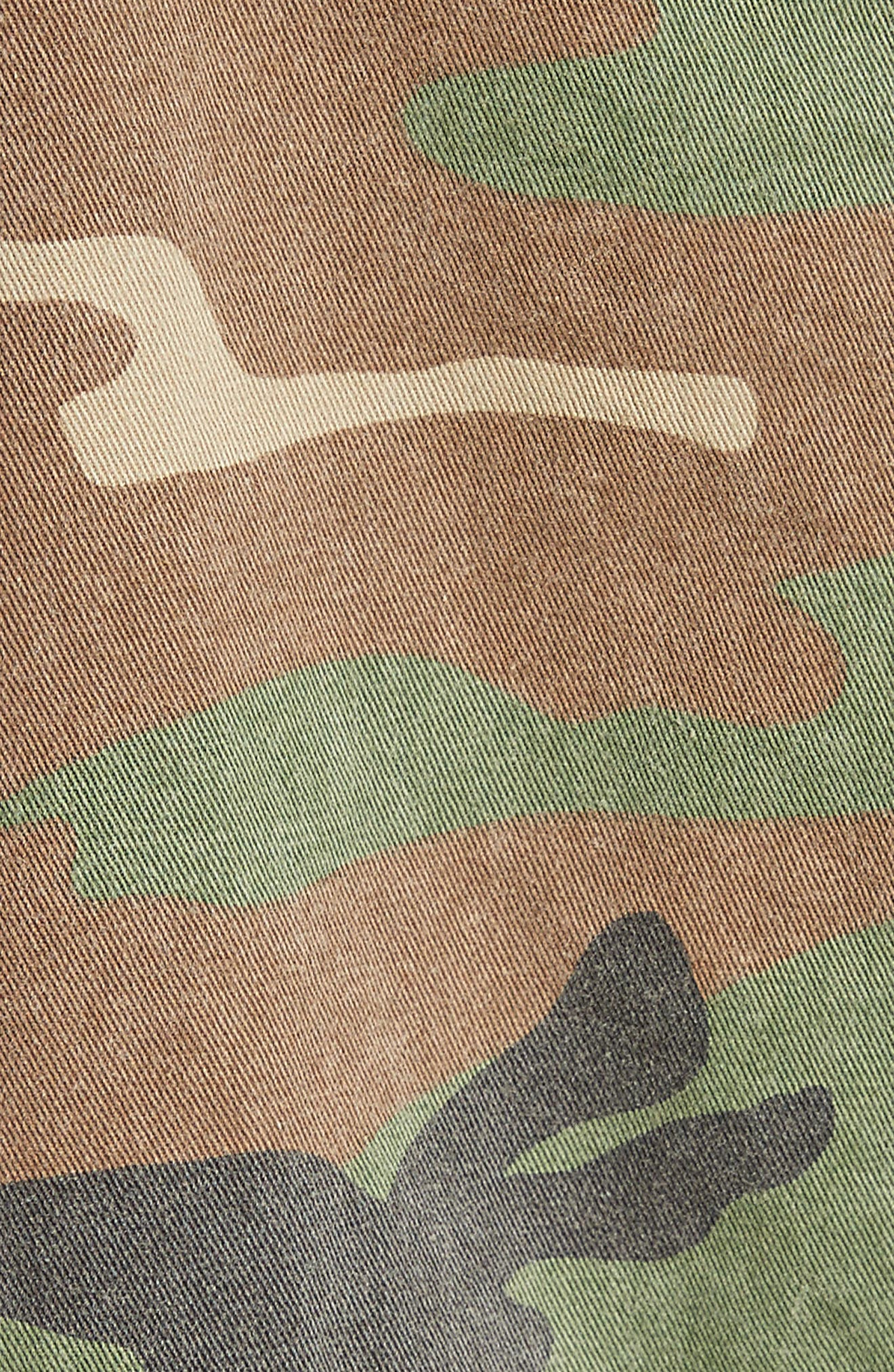 Camo Print Hooded Anorak,                             Alternate thumbnail 7, color,                             270