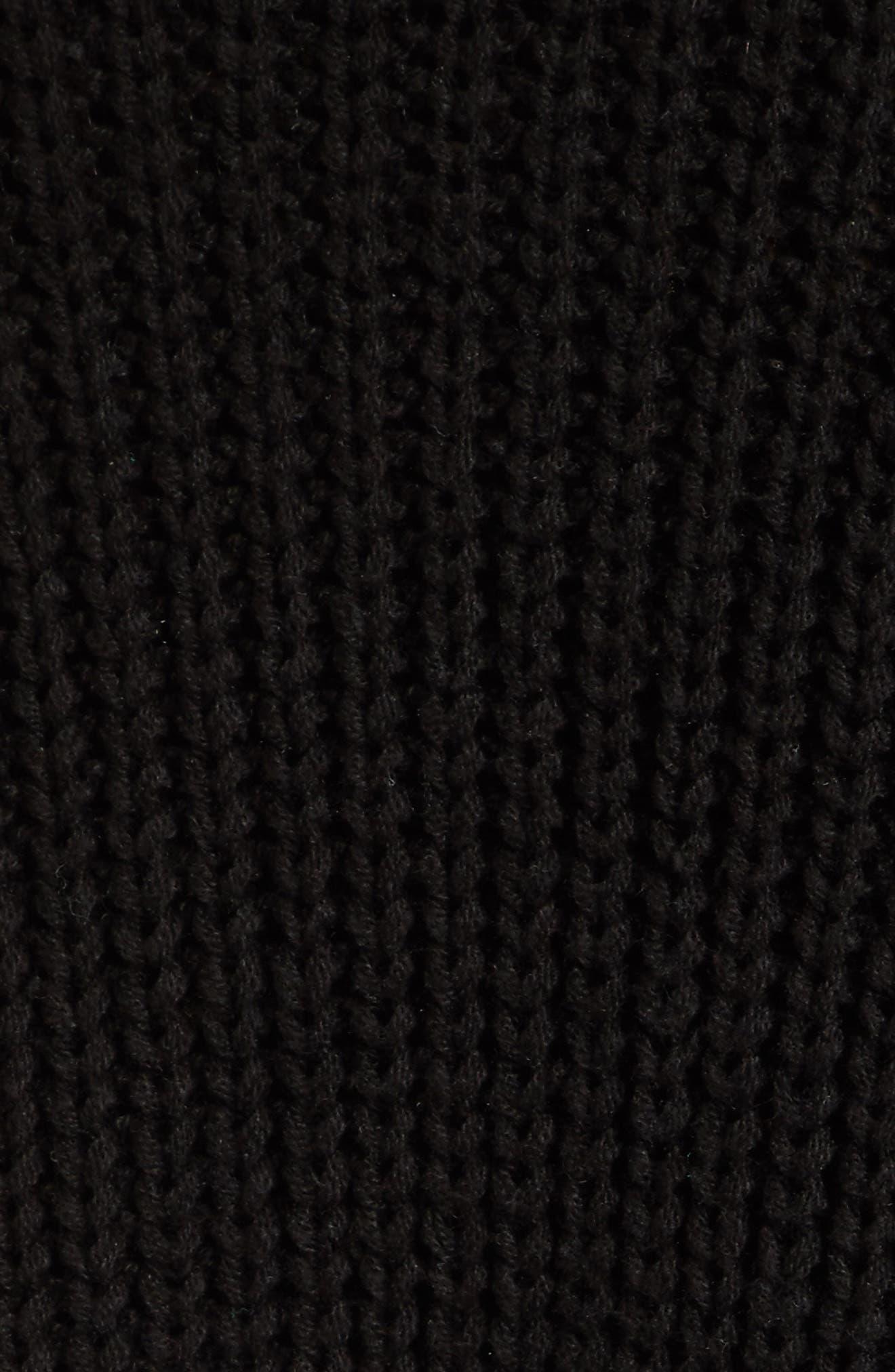 Take Over Me V-Neck Sweater,                             Alternate thumbnail 5, color,                             001