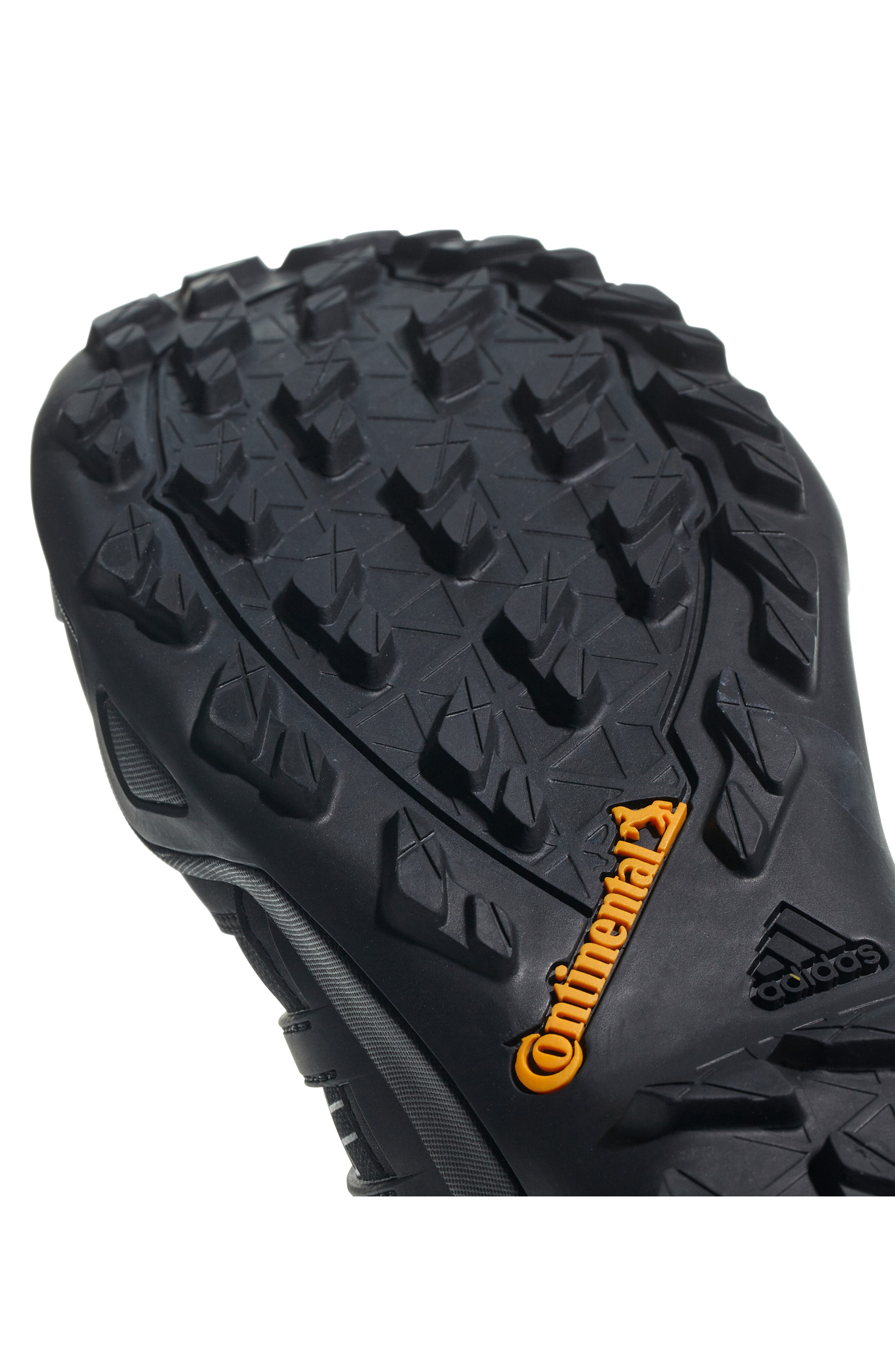 ADIDAS,                             Terrex Swift R2 GTX Gore-Tex<sup>®</sup> Waterproof Hiking Shoe,                             Alternate thumbnail 8, color,                             BLACK/ BLACK/ BLACK
