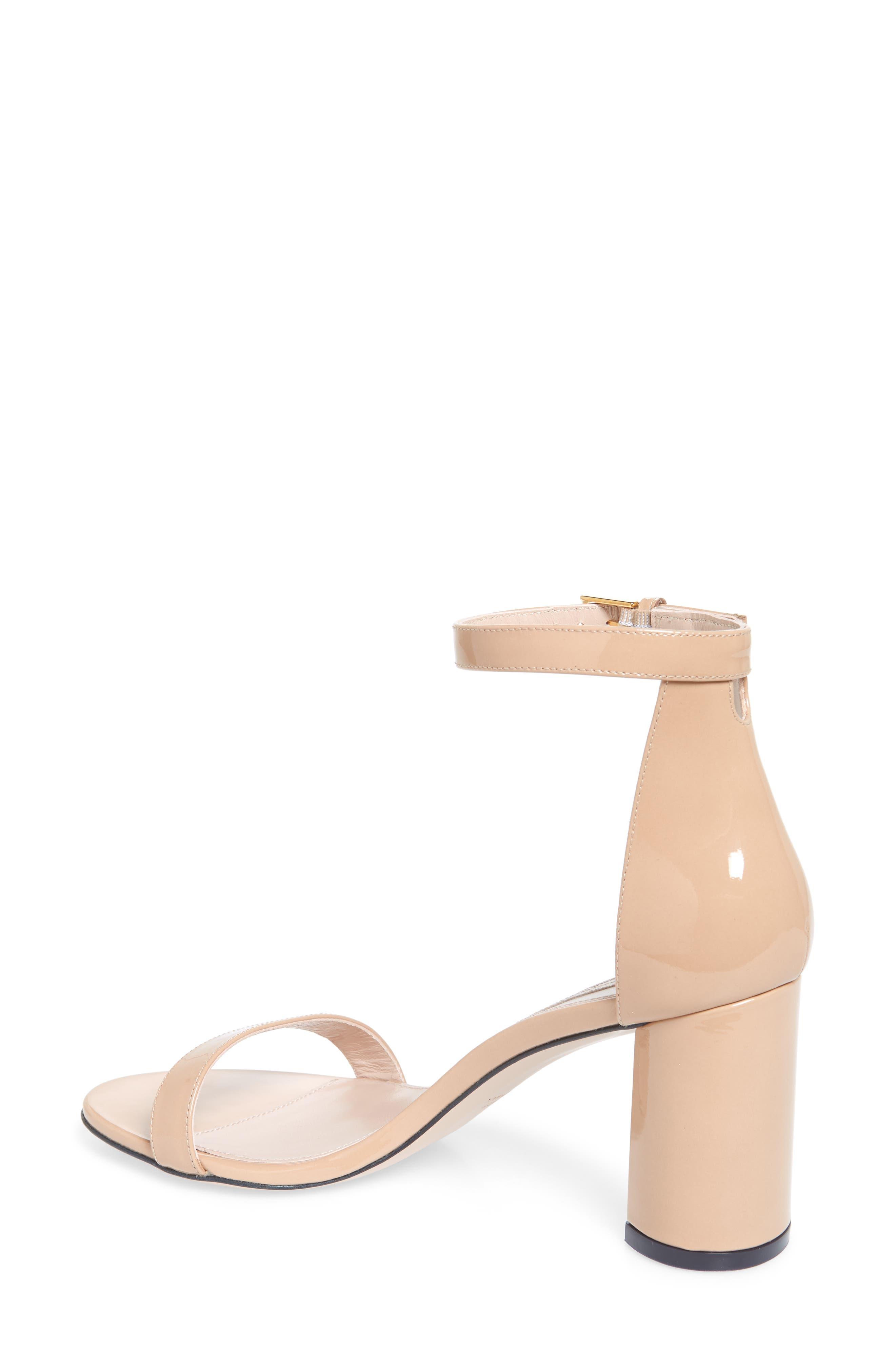 75LESSNUDIST Ankle Strap Sandal,                             Alternate thumbnail 2, color,                             ADOBE CRISTAL